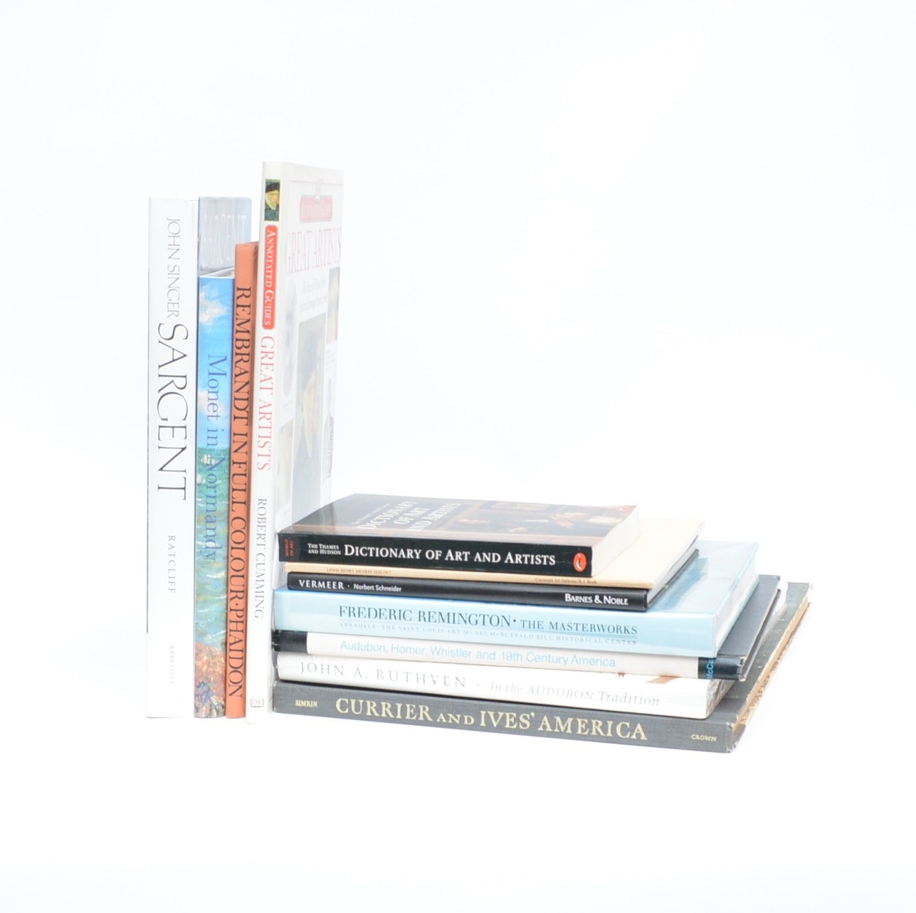 Artists' and Their Works Book Collection, Eleven Volumes