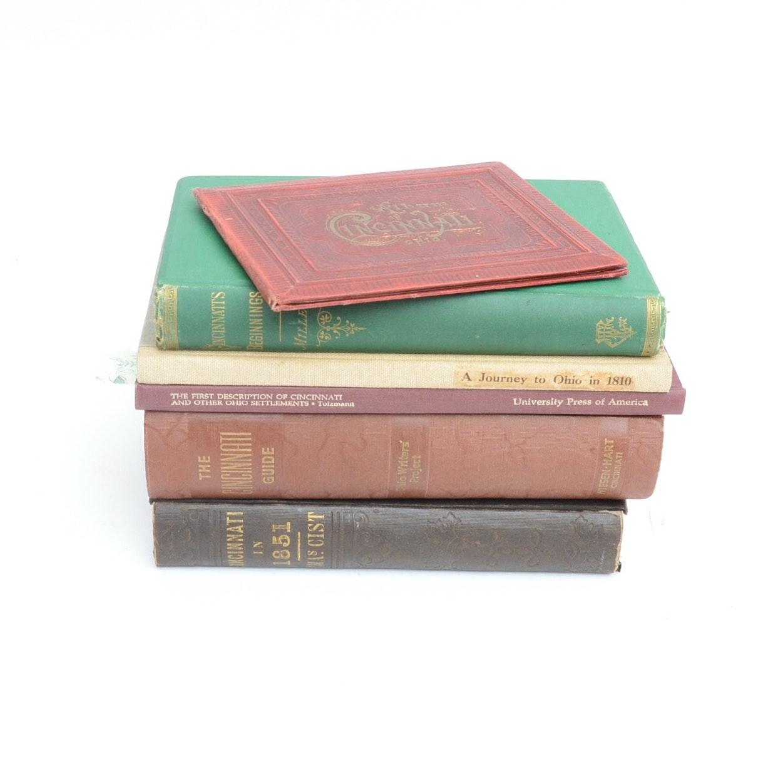 "1888 ""Album of Cincinnati, Ohio"" and Other Cincinnati Books including Signed"