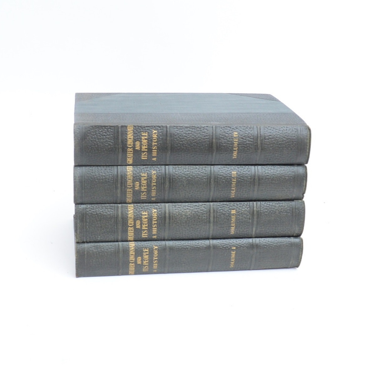 """""""Greater Cincinnati and Its People: A History"""" Four Volume Set"""