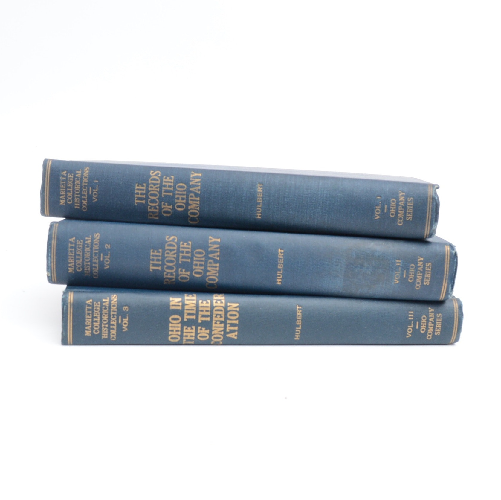 "1917 ""The Ohio Company Series"" Three Volume Set"