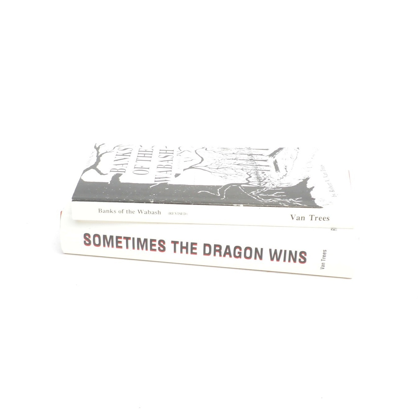 "Signed Books by Robert Van Trees featuring ""Sometimes the Dragon Wins"""