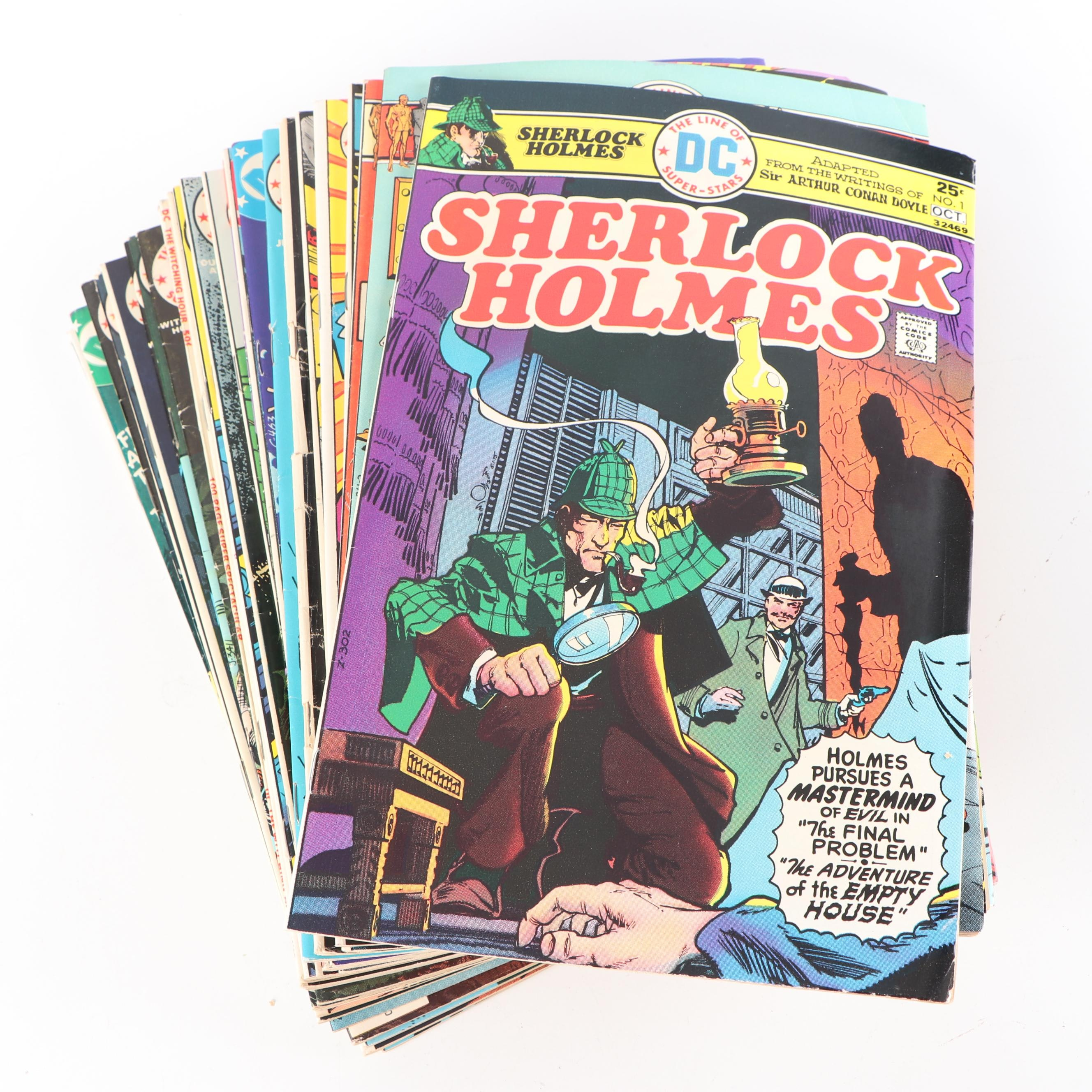 "Bronze Age DC ""Sherlock Holmes, Metal Men and more"" Comic Books"