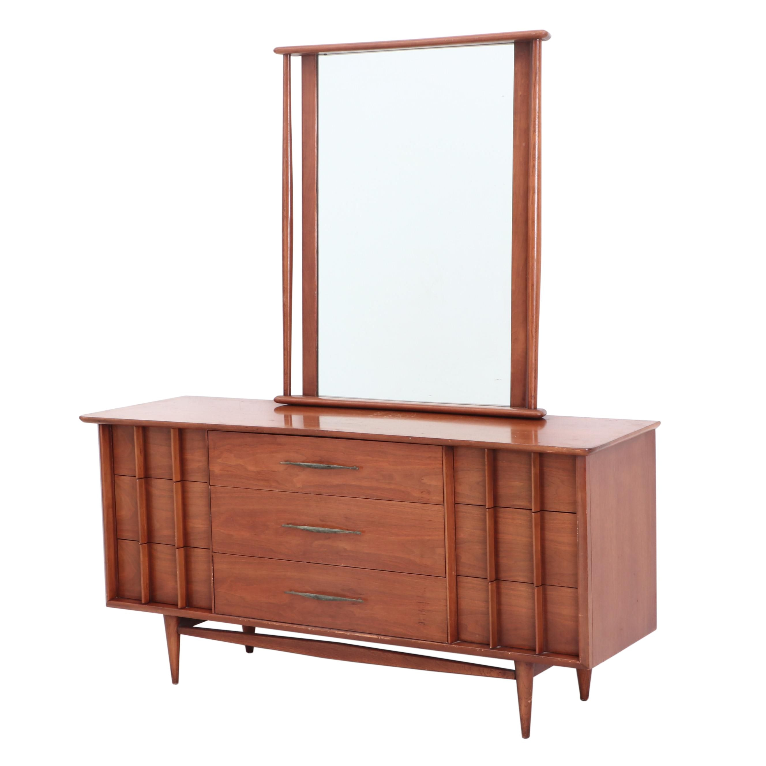 Mid-Century Modern Walnut Dresser by Kent Coffey