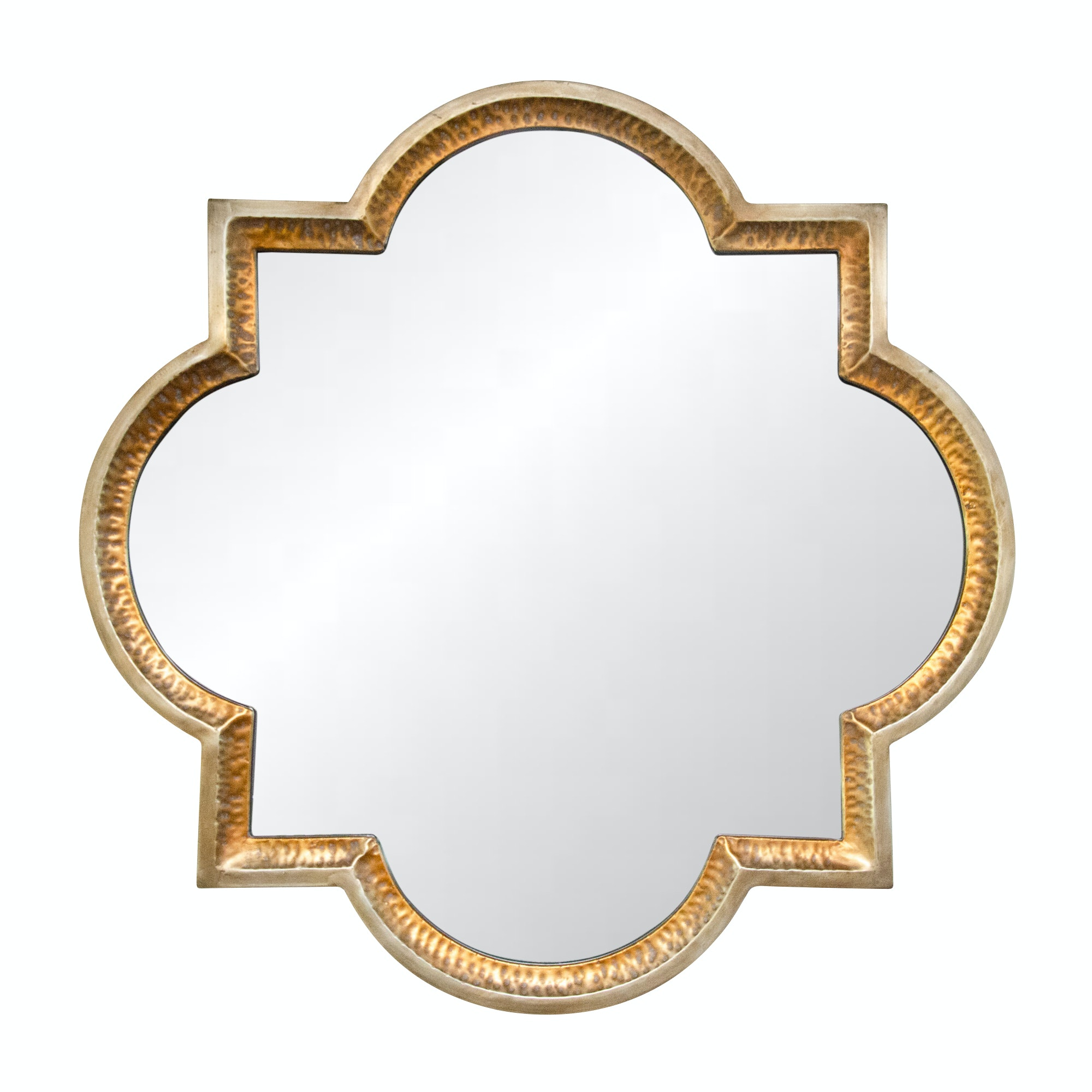 "Uttermost ""Lourosa"" Gilt Decorative Wall Mirror"