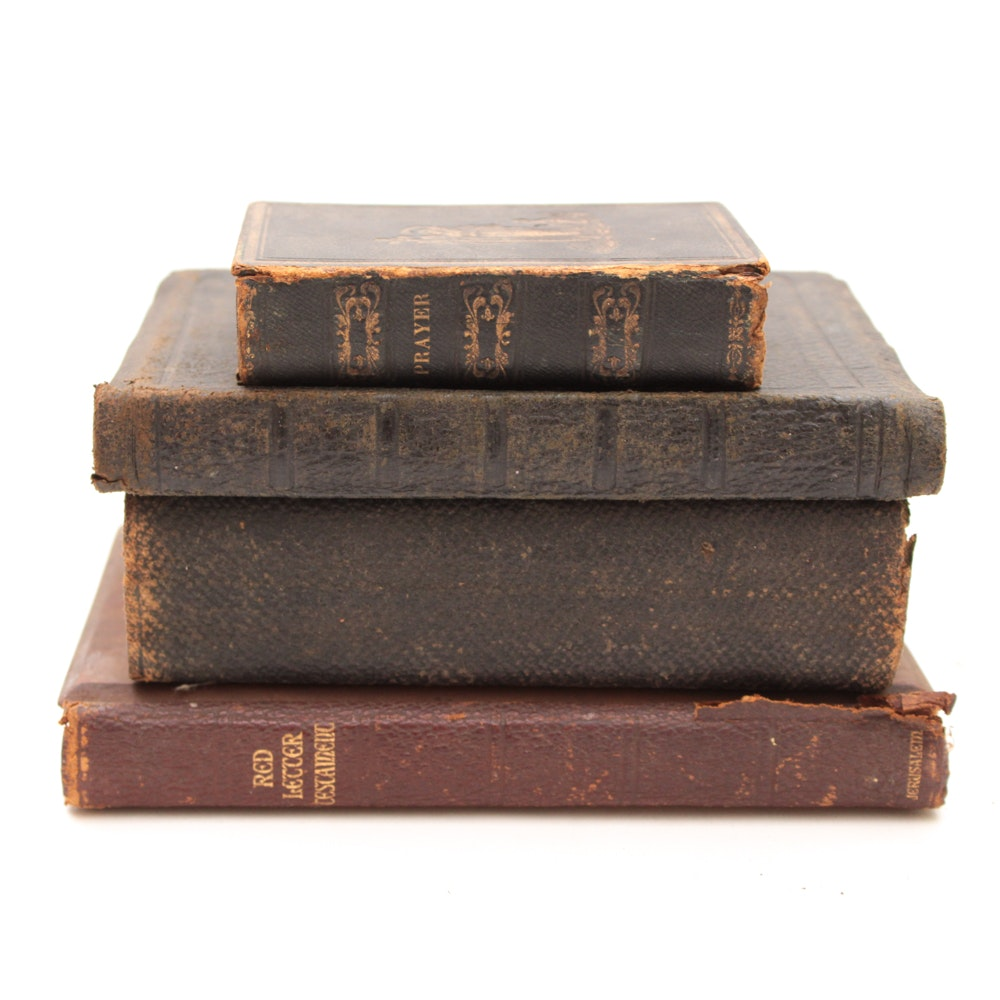 Late 19th Century and Early 20th Century Religious Books