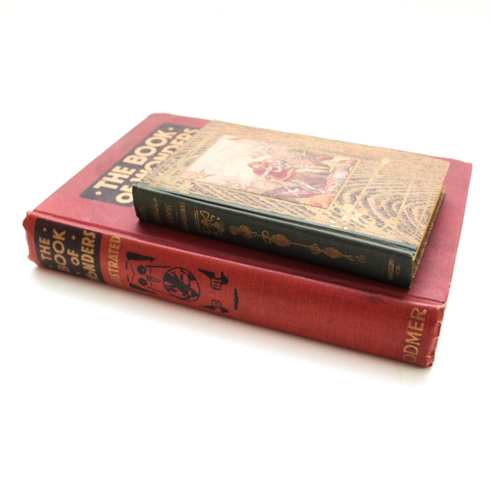 """Nathaniel Hawthorne """"A Wonder Book"""" and More"""