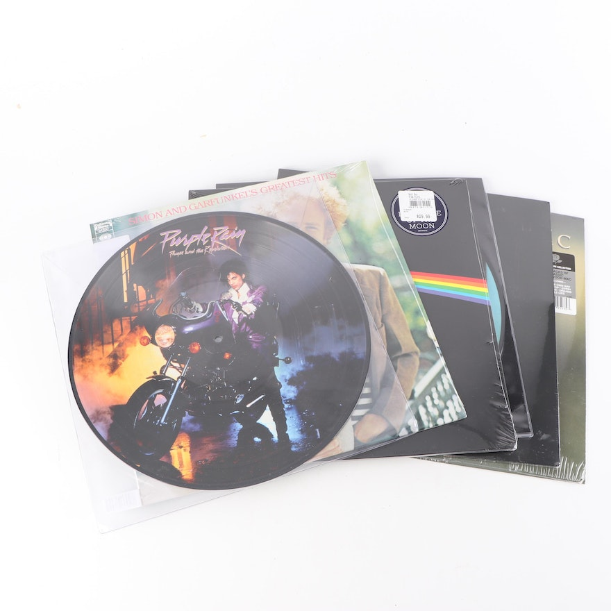 1970s-1980s Records Featuring Titles From Michael Jackson and Prince