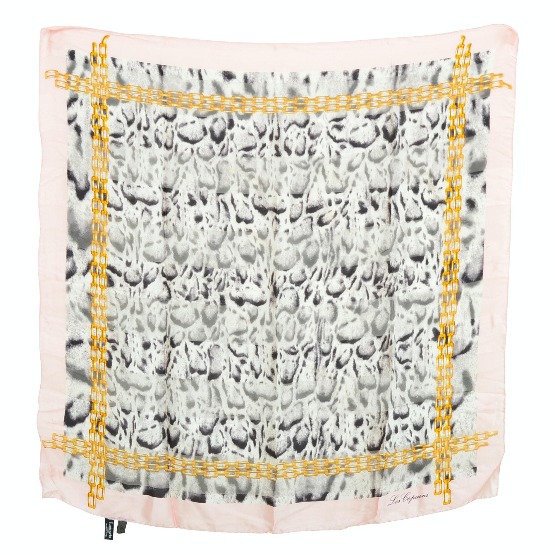 Les Copains Silk Scarf