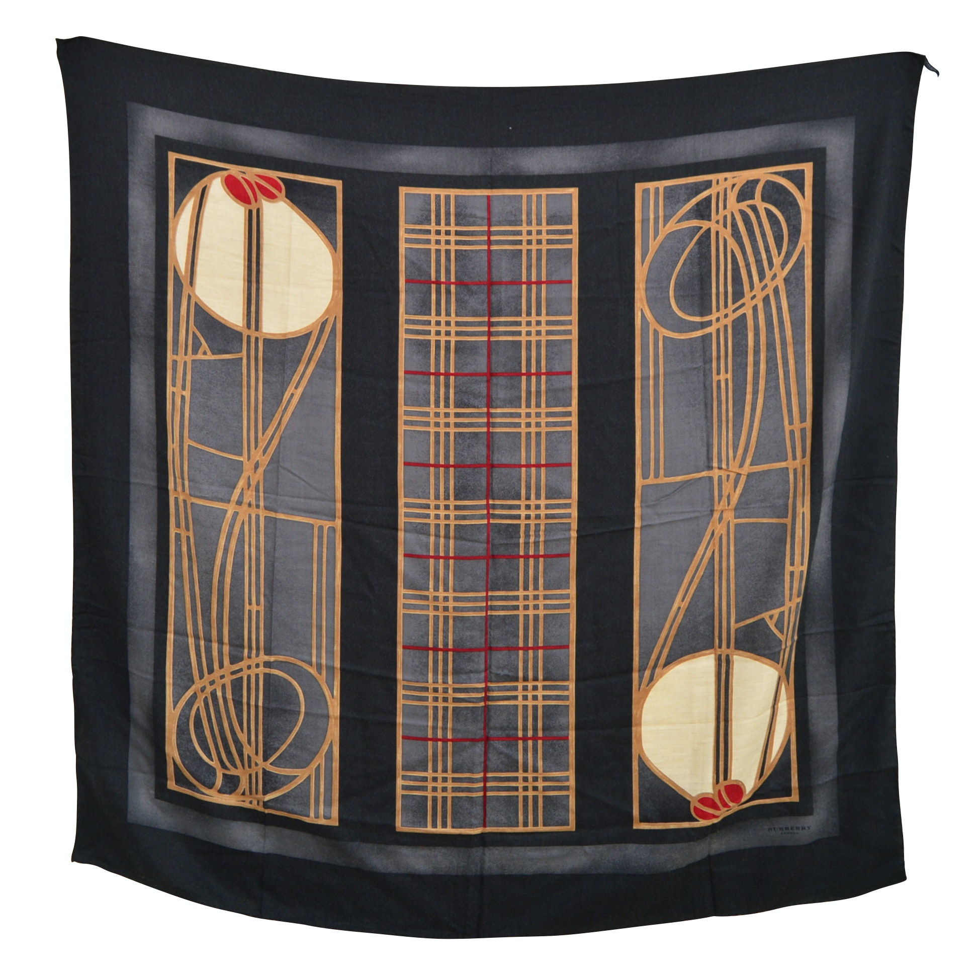 Burberry London Cashmere, Wool, and Silk Blend Scarf