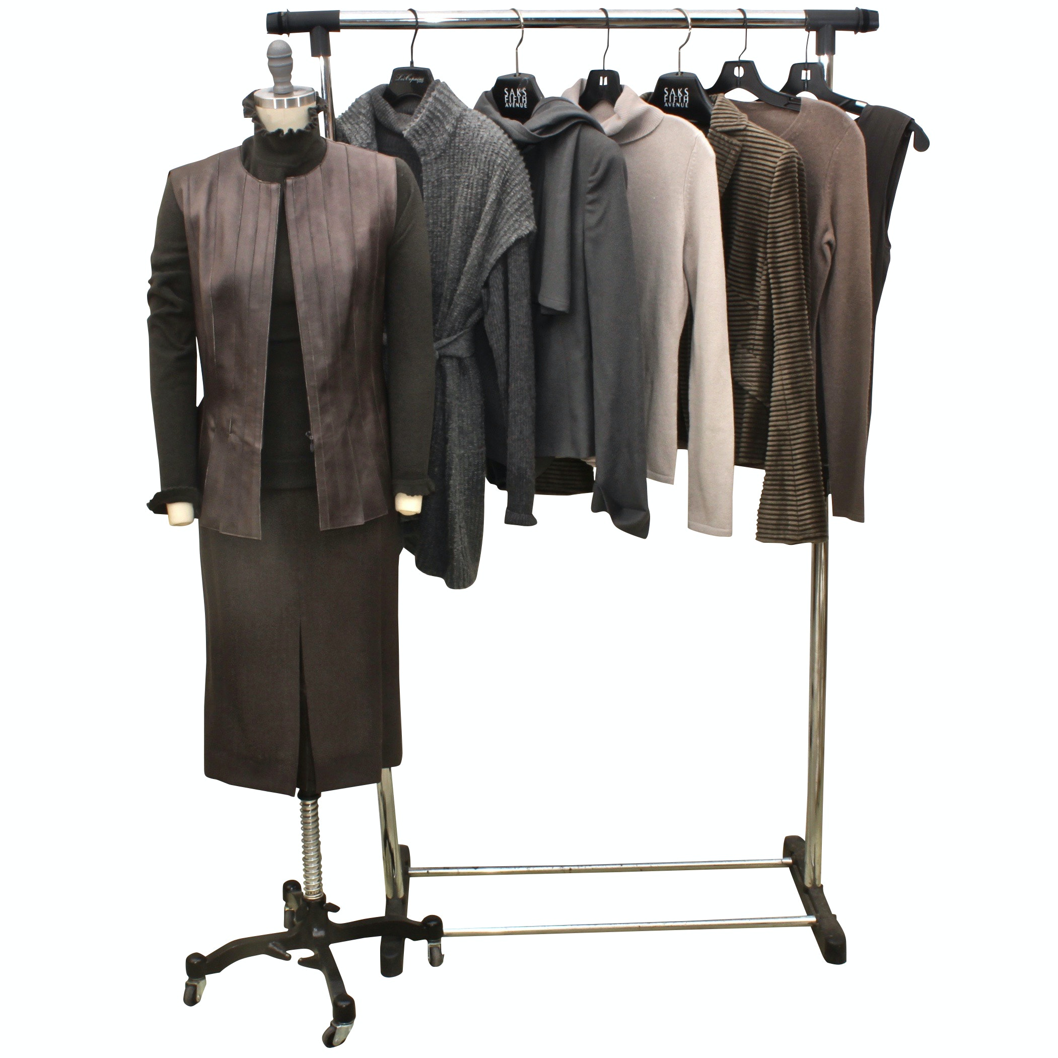 Women's Lambskin, Cashmere and Wool Outerwear Including Akris