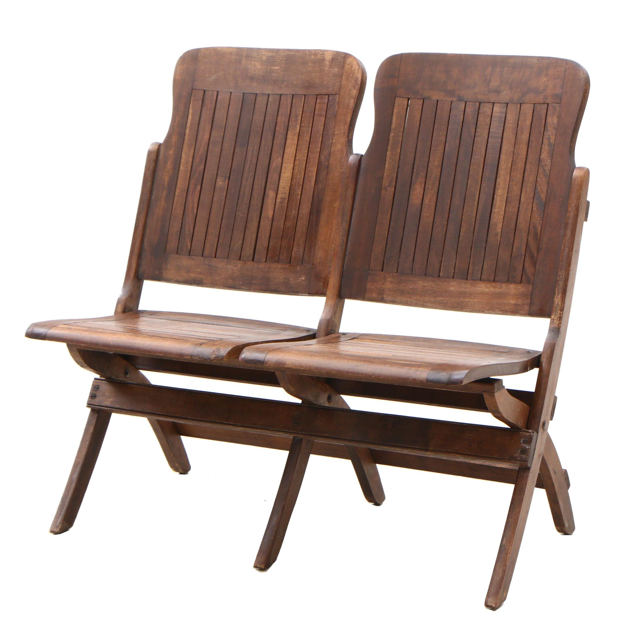 Heywood-Wakefield Folding Seats, circa 1930s