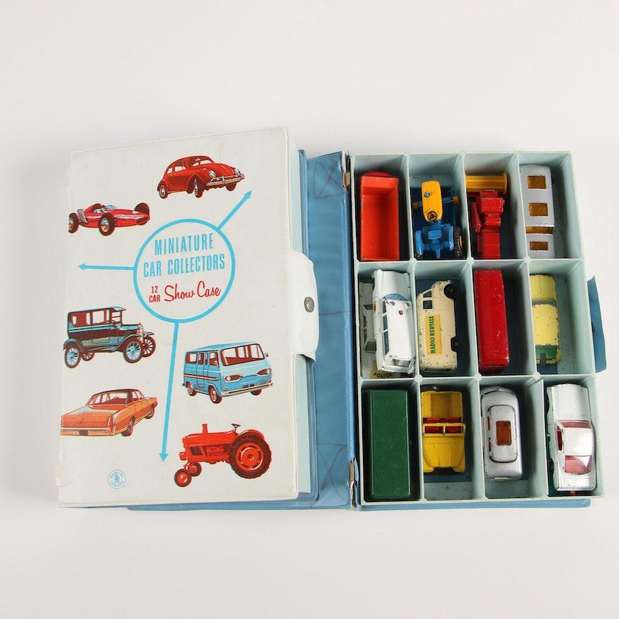 Mattel Miniature Car Collectors Show Cases