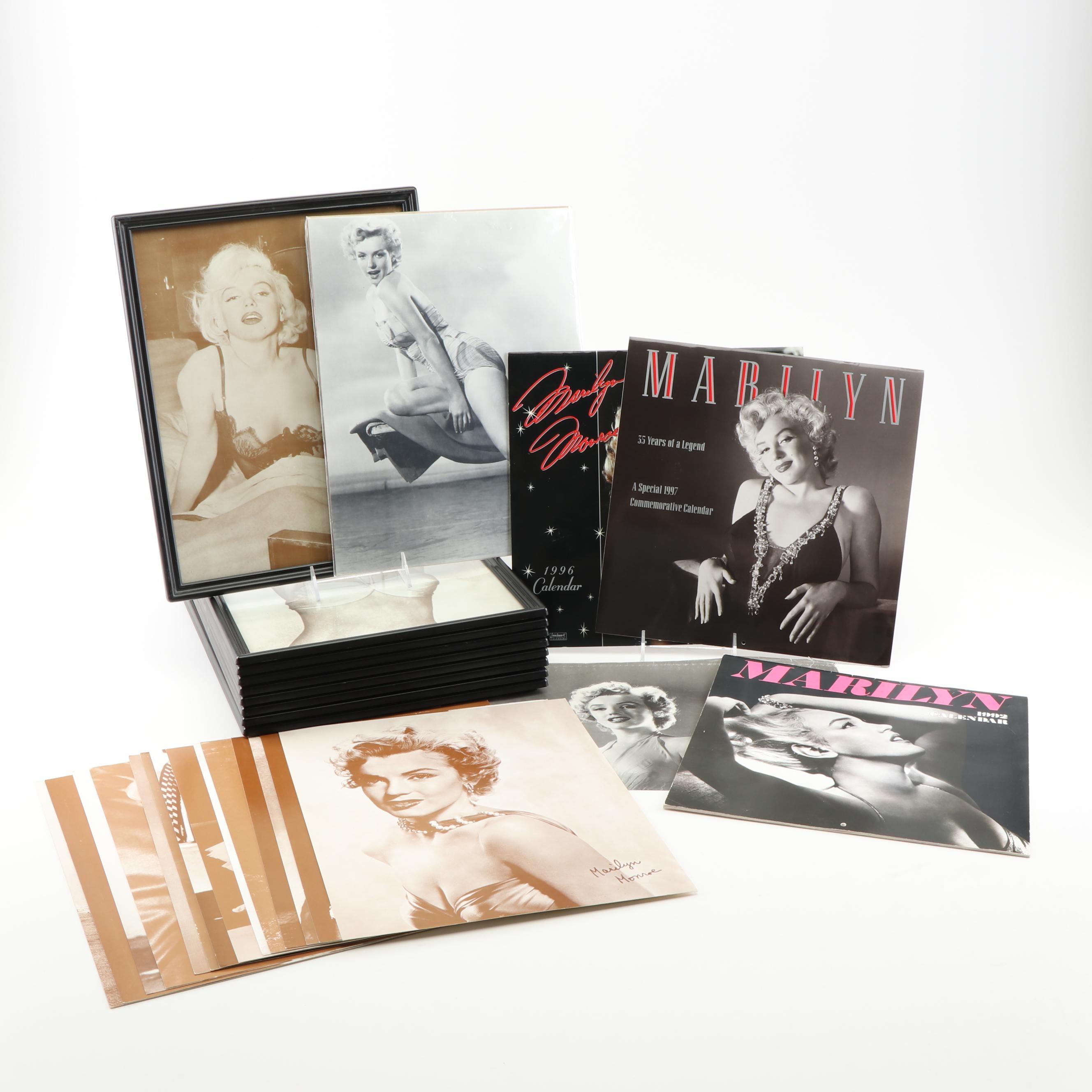 Marilyn Monroe Poster Print and Calendar Grouping