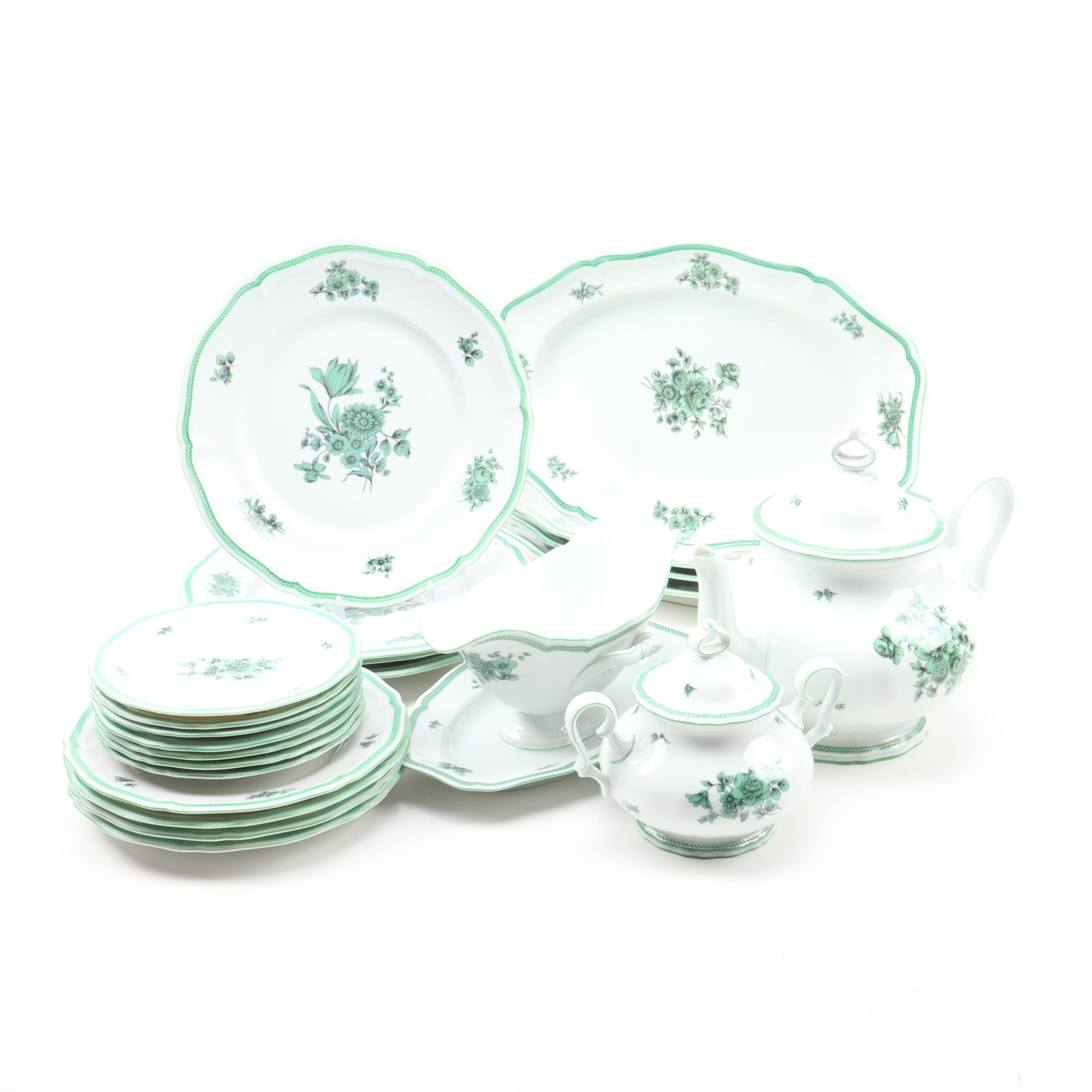 Rosenthal Green Chippendale Dinner and Serveware