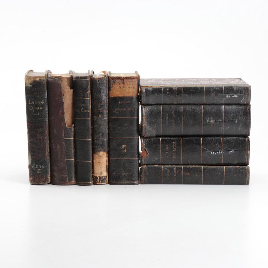 Mid-19th Century Religious Books