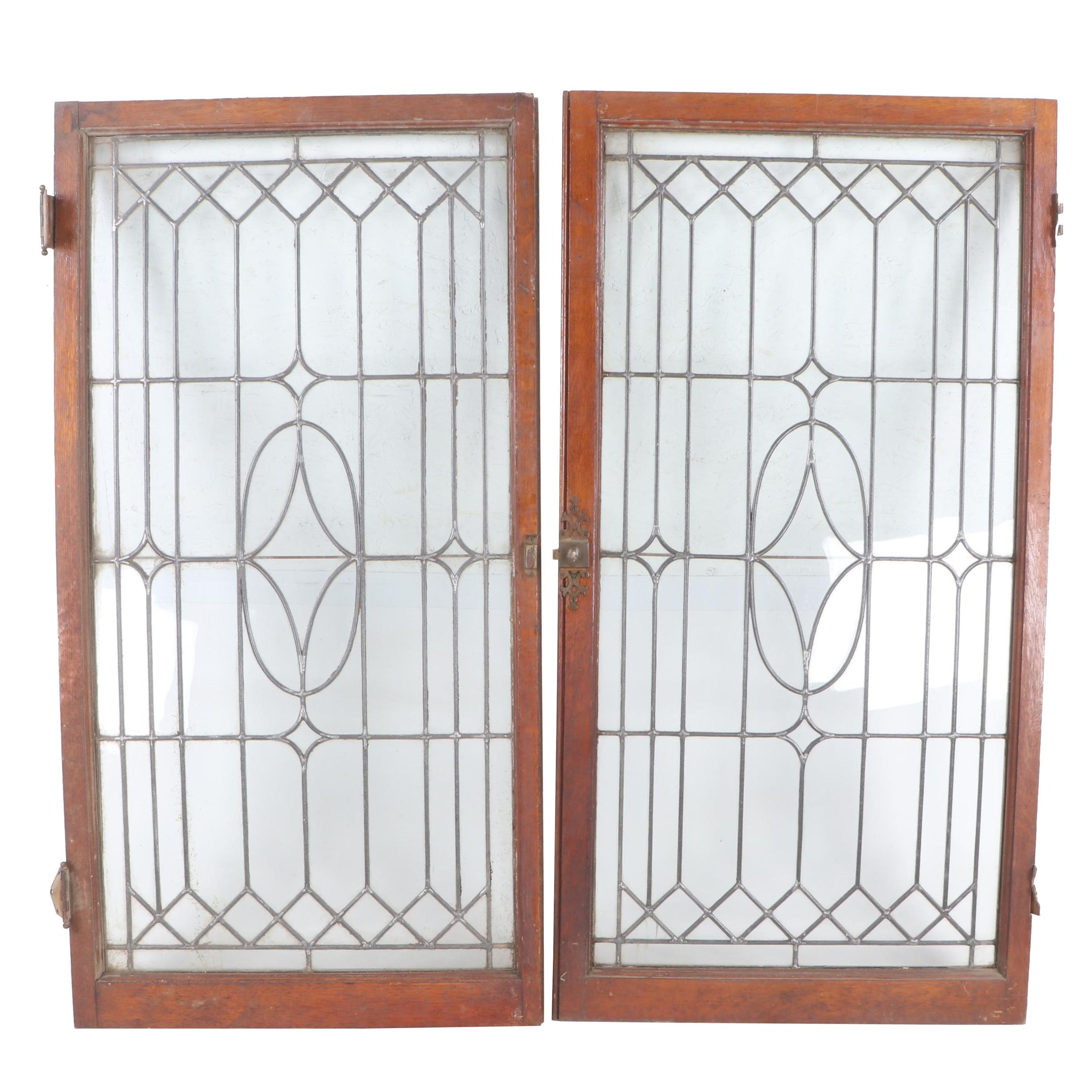 Gothic Style Leaded Windows, Antique