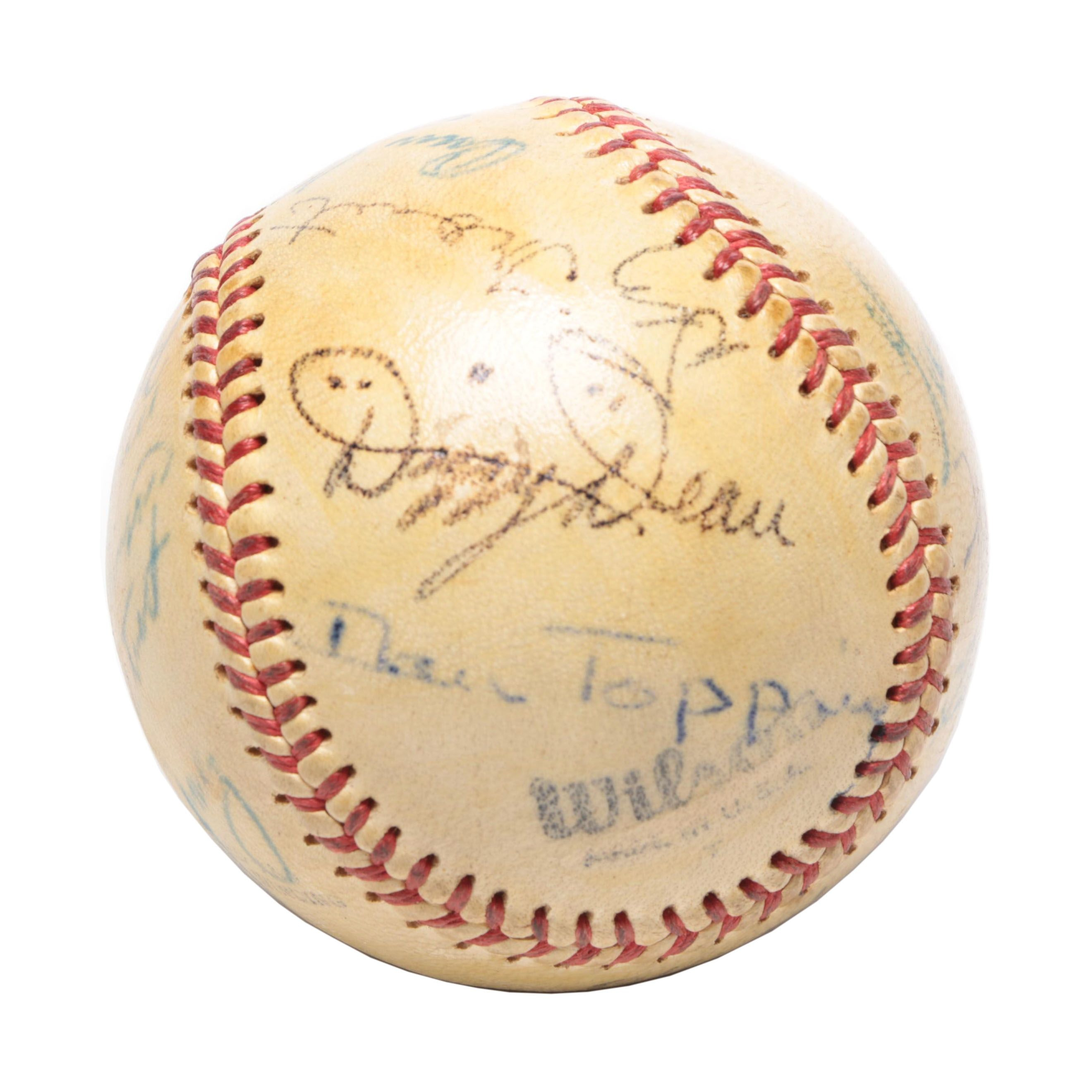Dizzy Dean, Lefty Gomez and Others Signed Baseball, Circa 1940s  JSA Full Letter