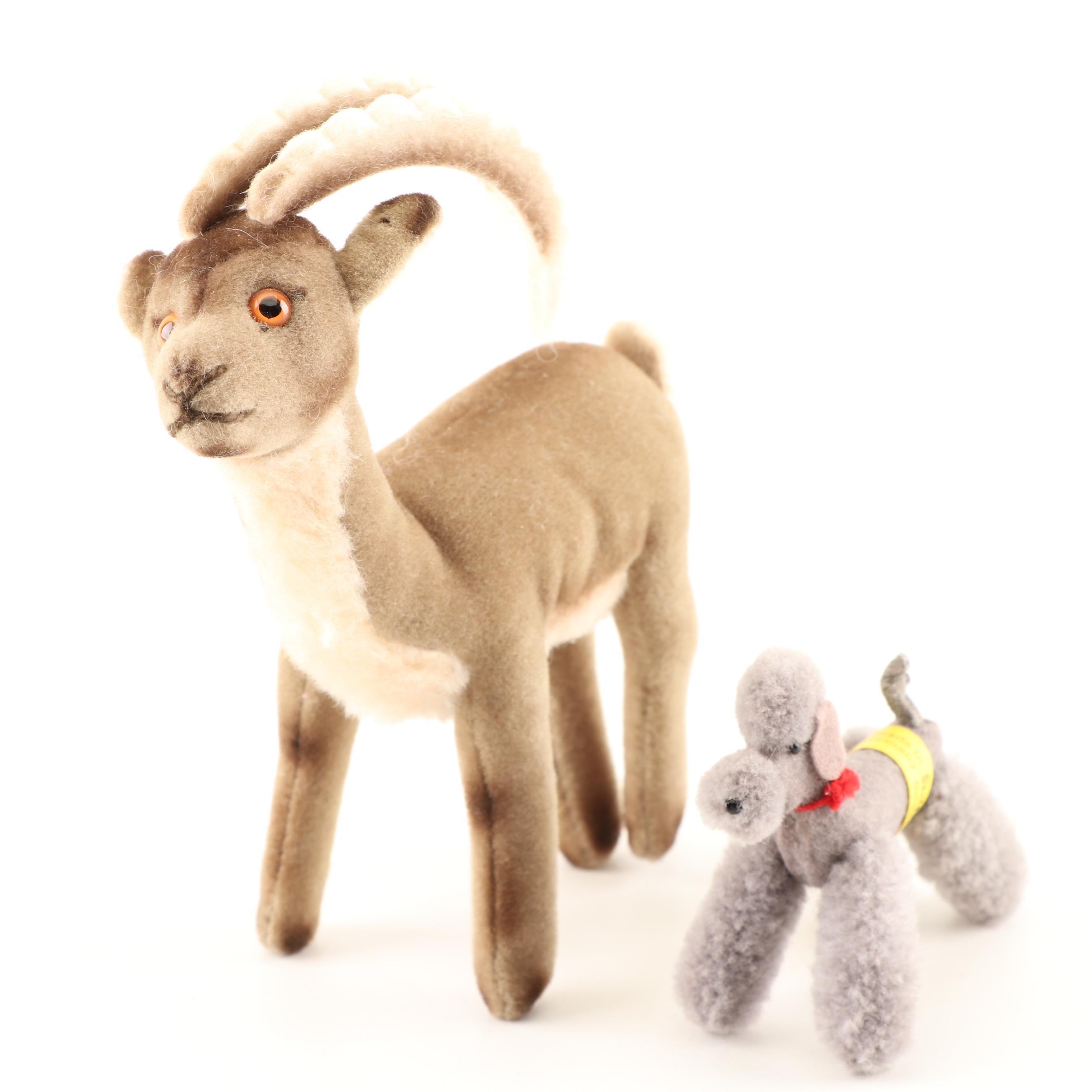 Plush Stuffed Animals Including Steiff
