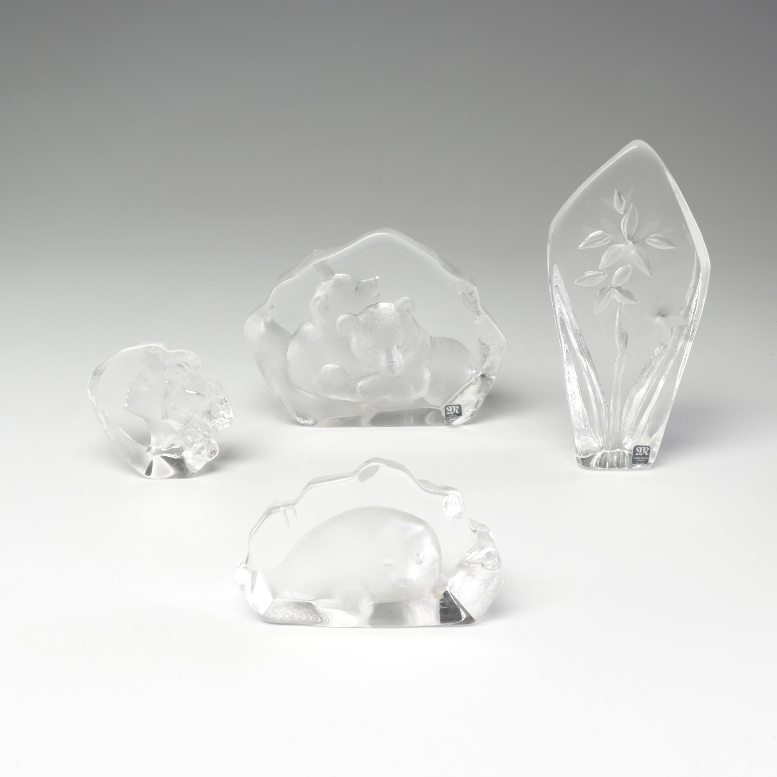 Mats Jonasson Crystal Paperweights