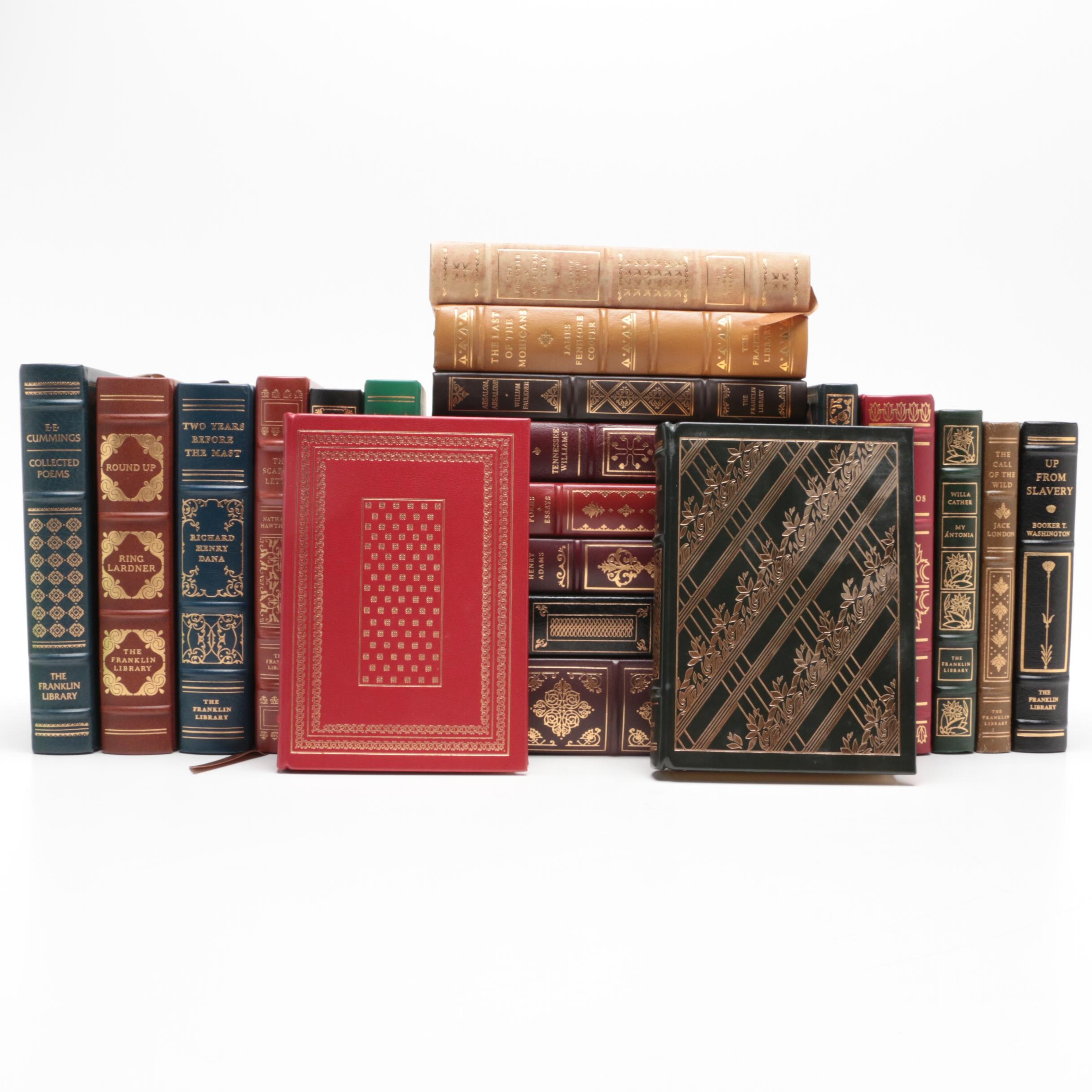 """The Franklin Library Classics with """"The Last Of The Mohicans"""" and More"""