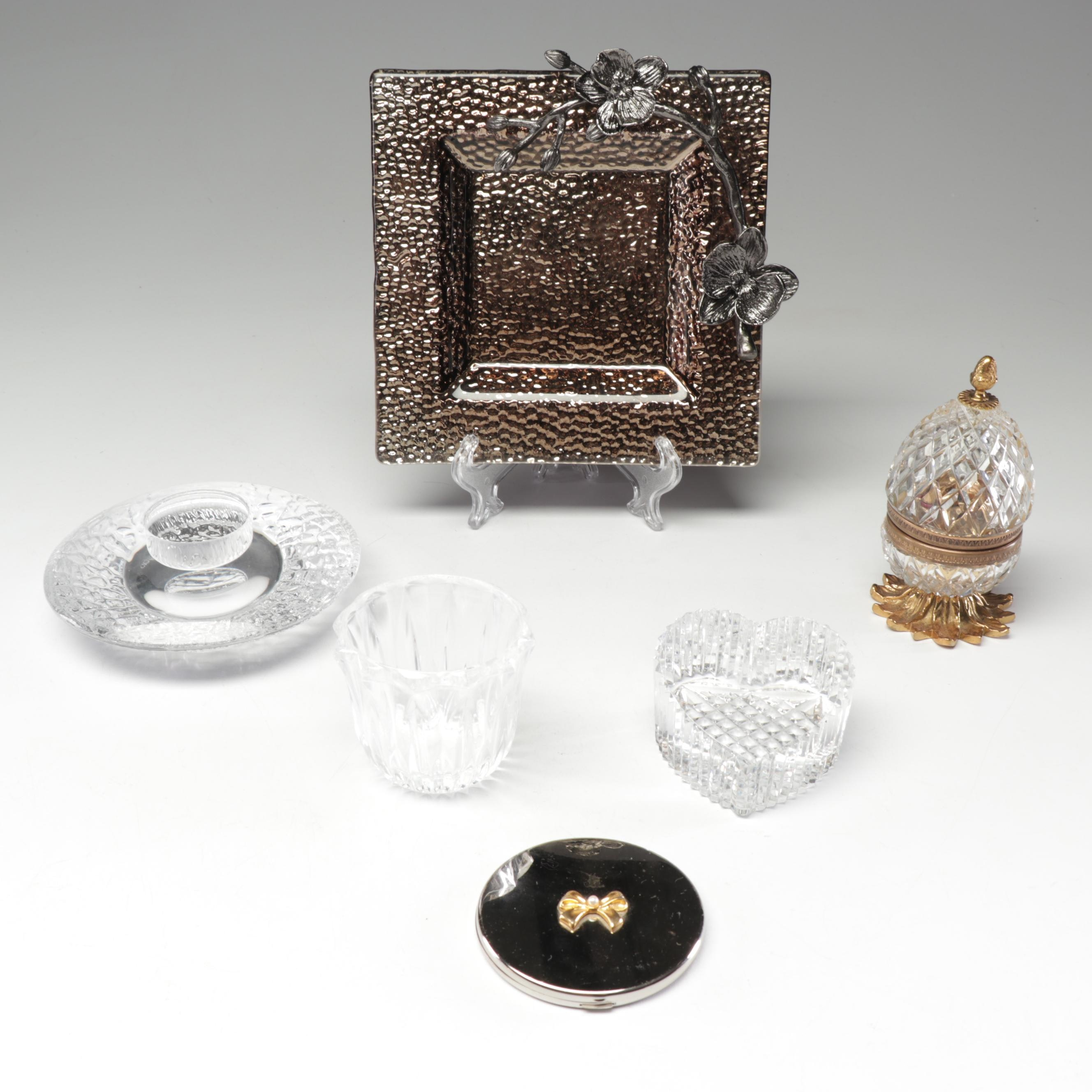 Waterford Crystal, Orrefors and Other Decorative Vanity Items