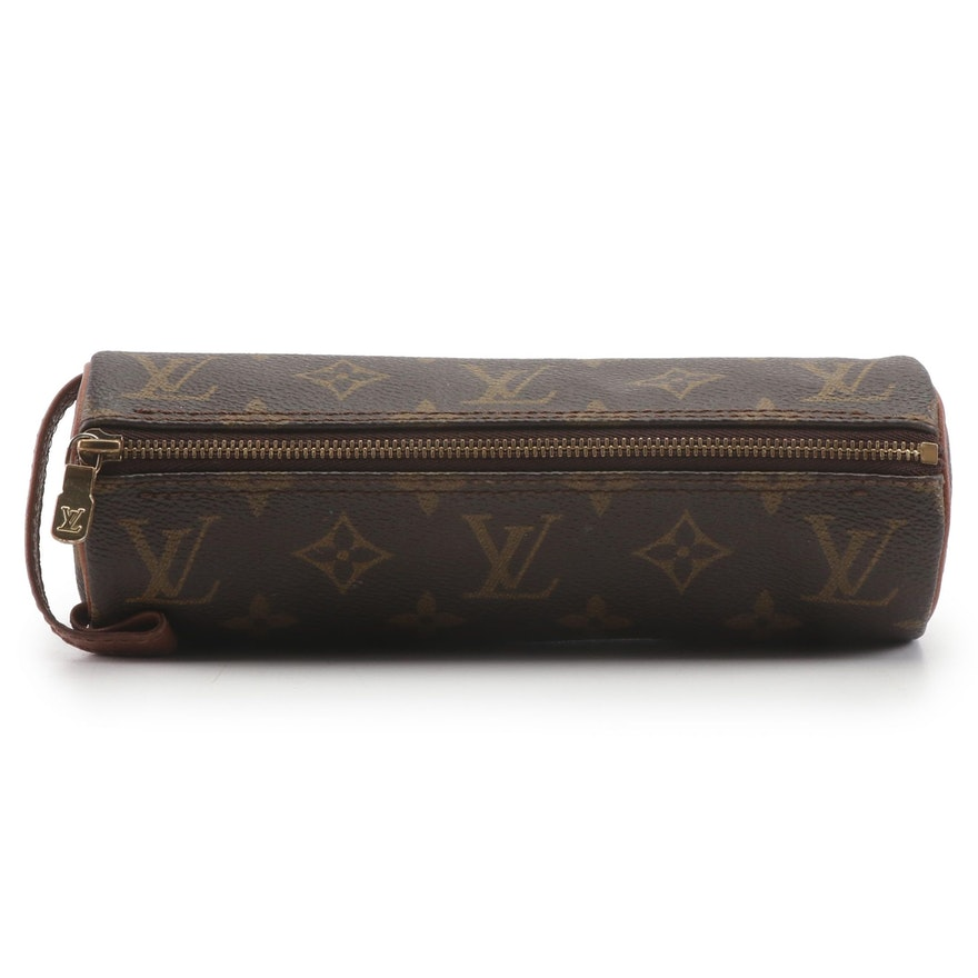 Louis Vuitton Monogram Canvas Pencil Case