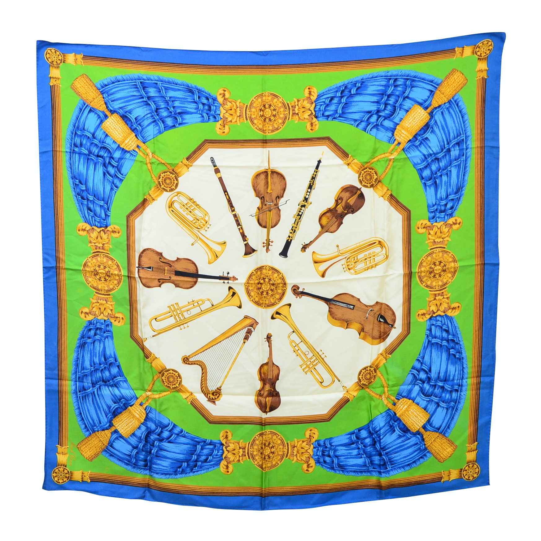 Mark Cross Silk Scarf