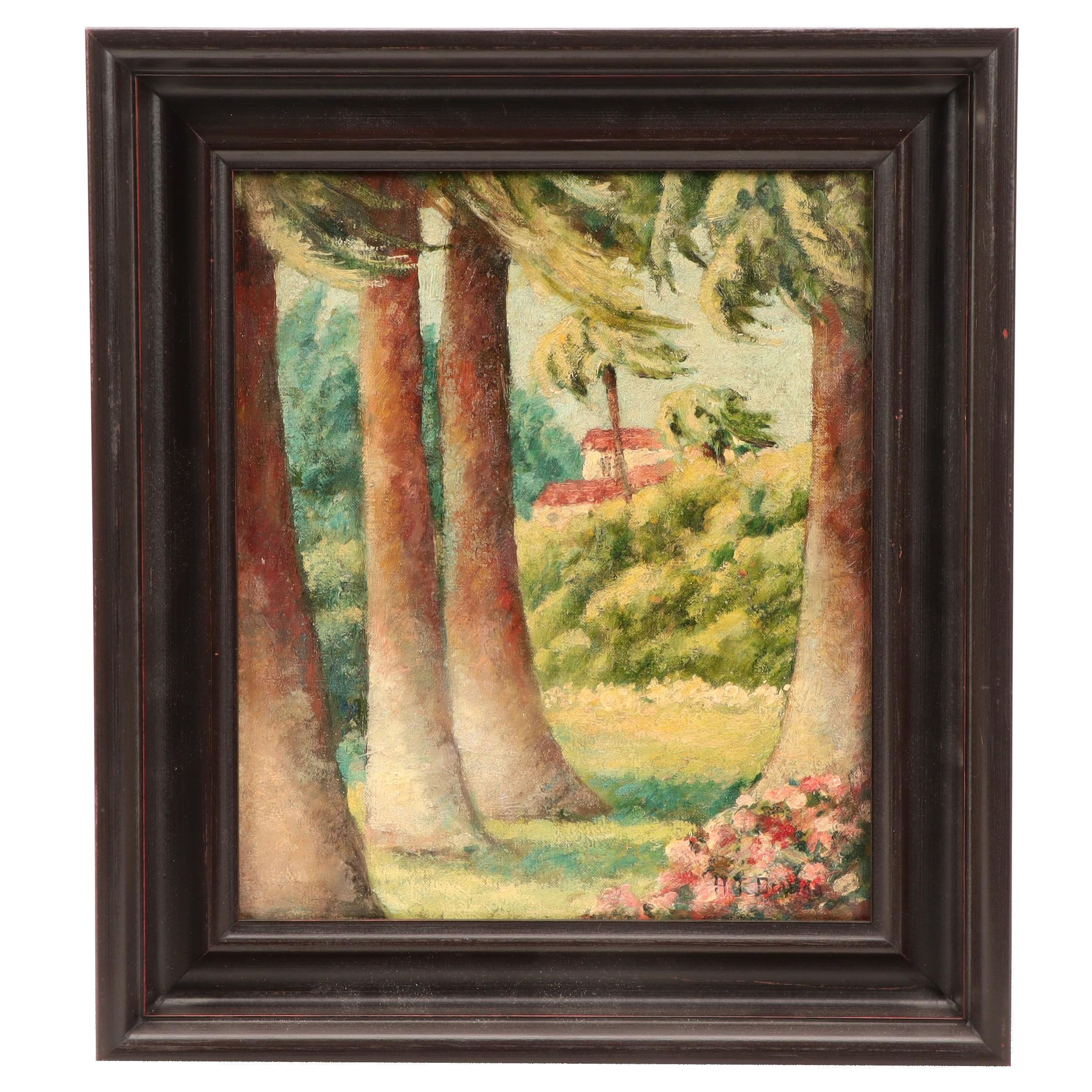 Helen Thomas Dranga Hawaiian Landscape Oil Painting
