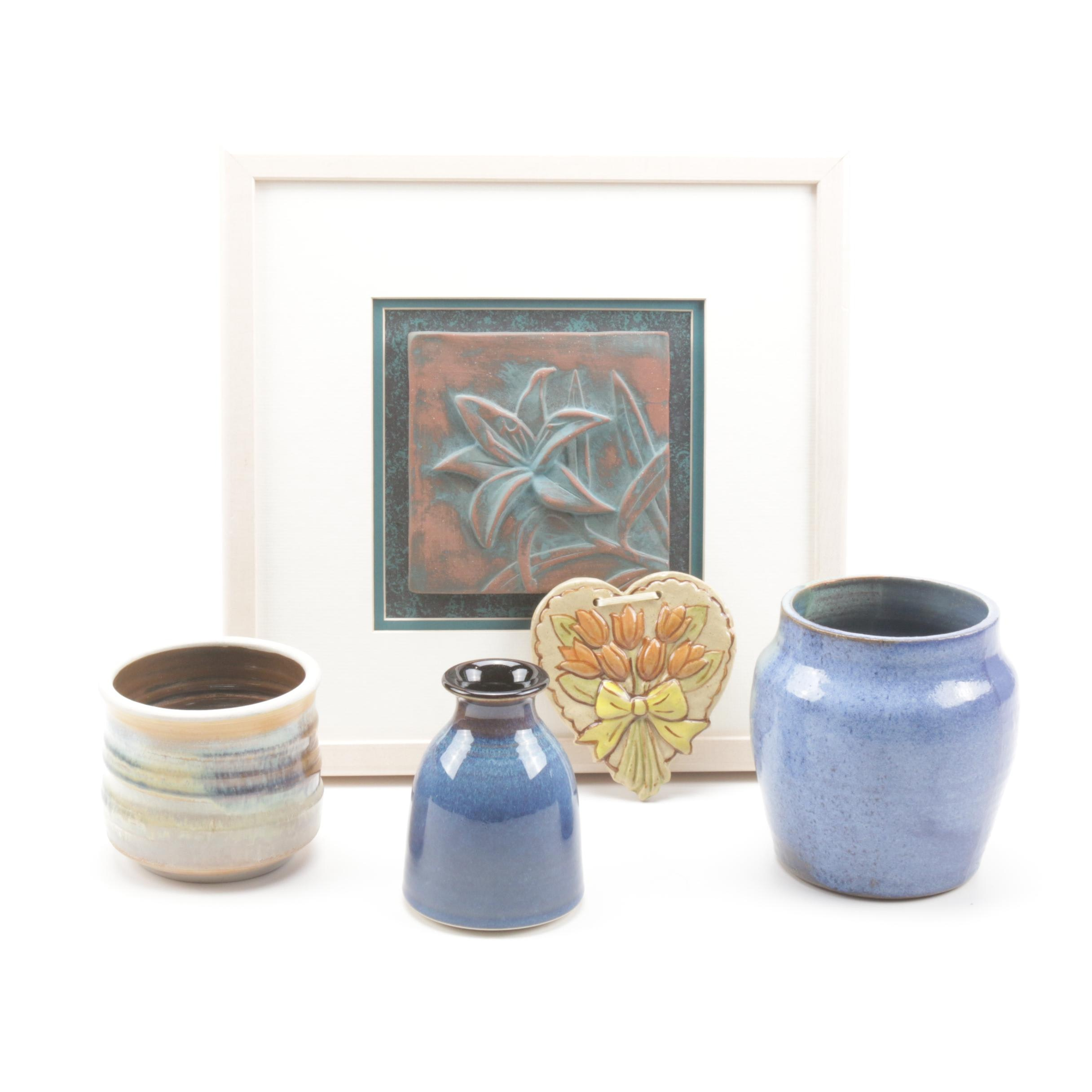 Artisan Pottery Featuring Allan Nairn Tile