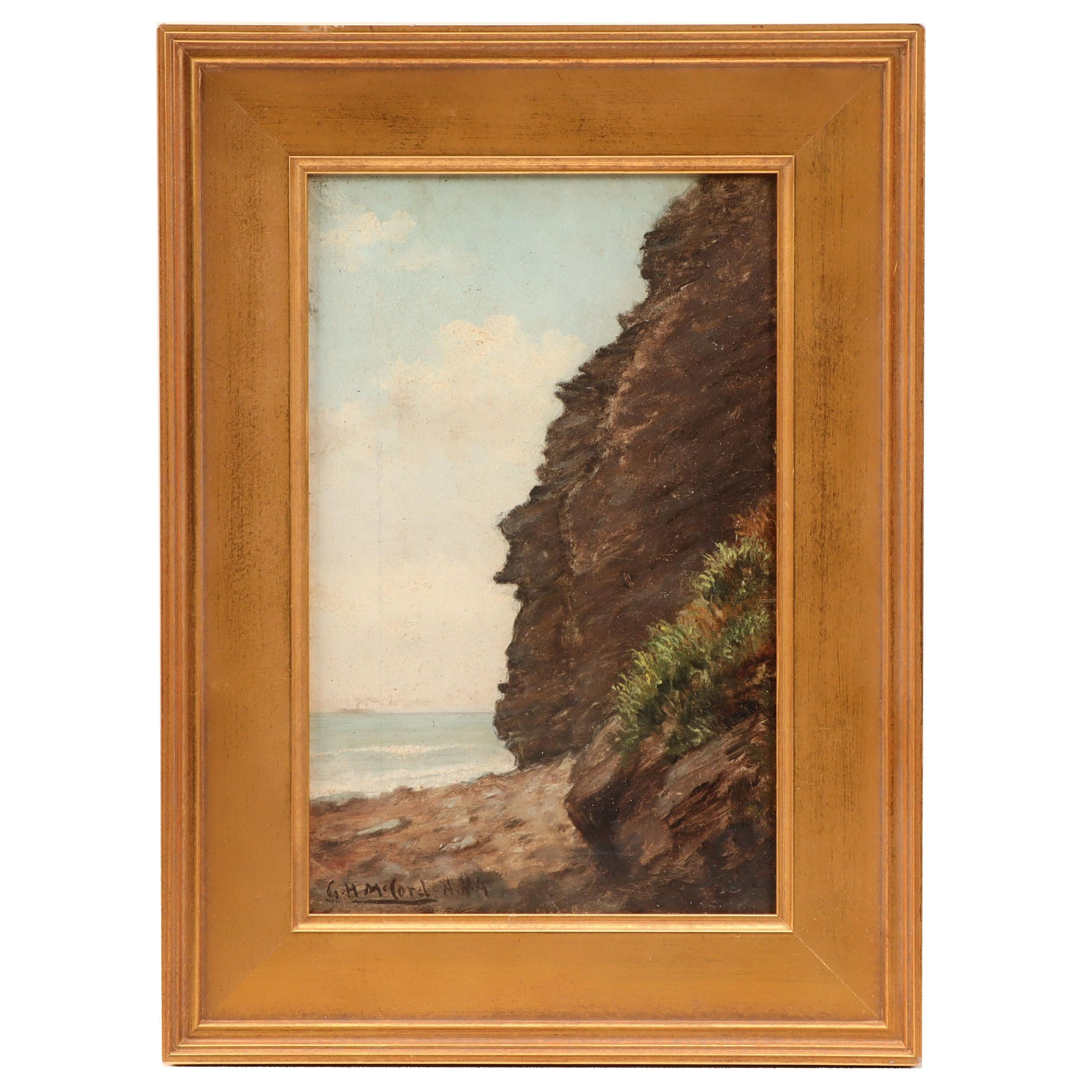 George Herbert McCord Oil Painting of Atlantic Coastline
