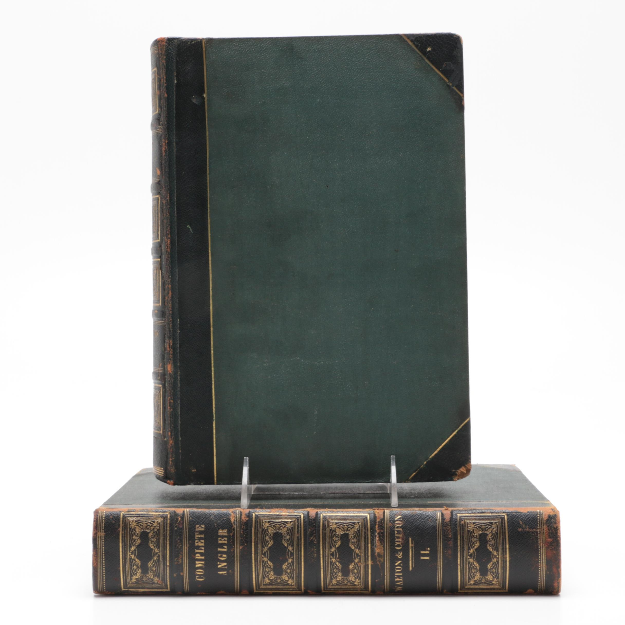 """1836 """"The Compleat Angler"""" (sic) in Two Volumes"""