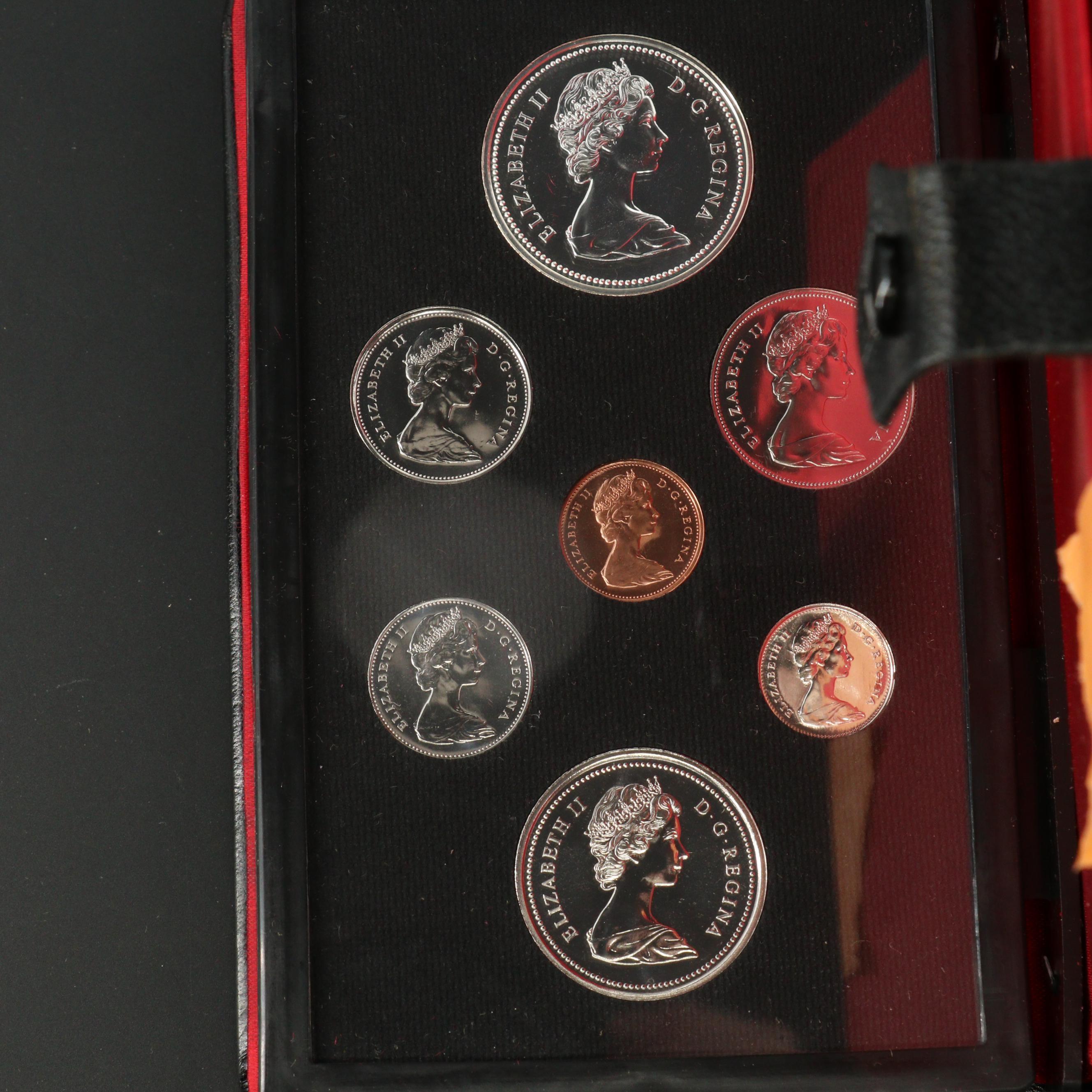 1974 Royal Canadian Mint Proof Set