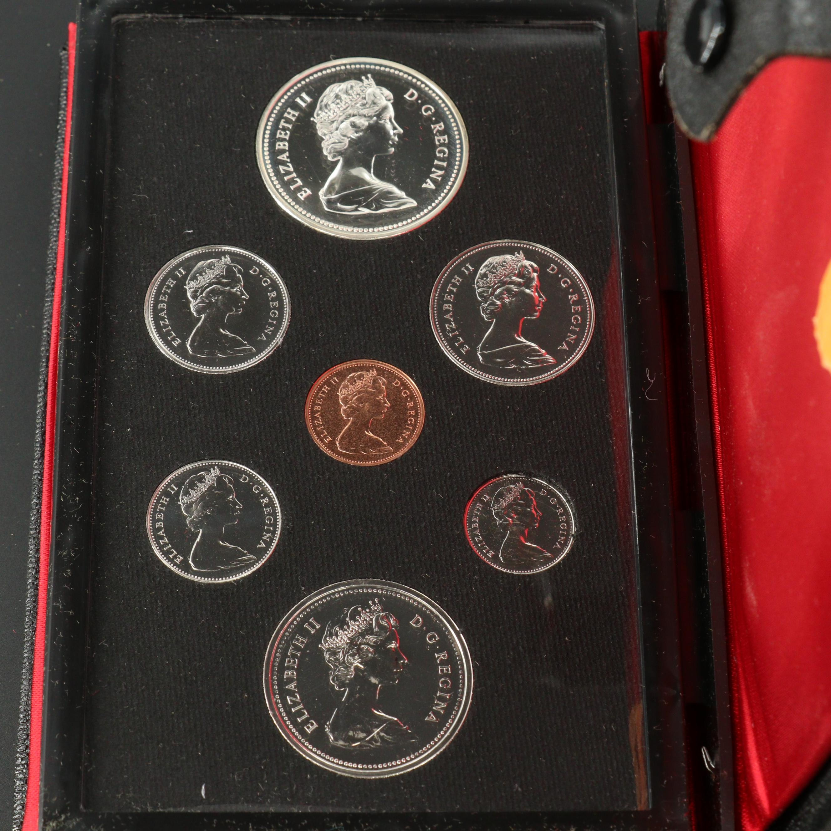 1976 Royal Canadian Mint Proof Set