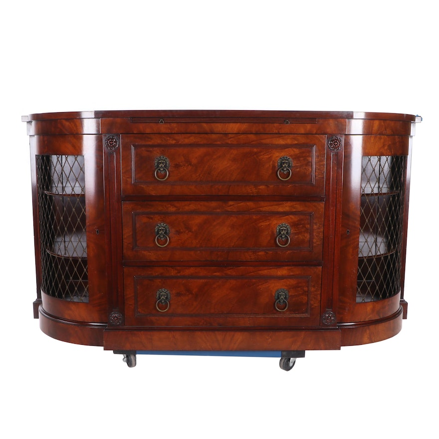 Kaplan Furniture Beacon Hill Collection Louis Xvi Style Mahogany