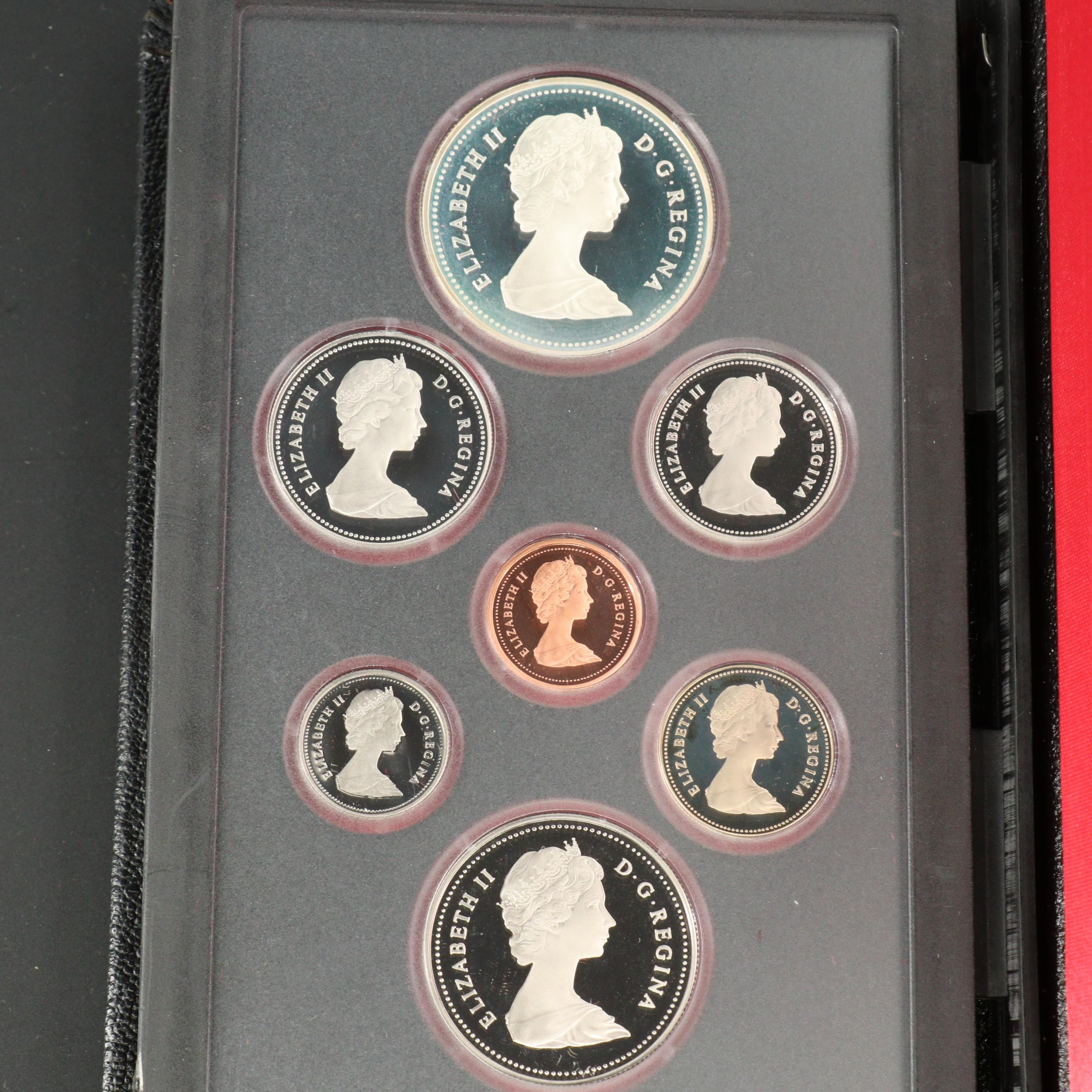 1982 Royal Canadian Mint Proof Set