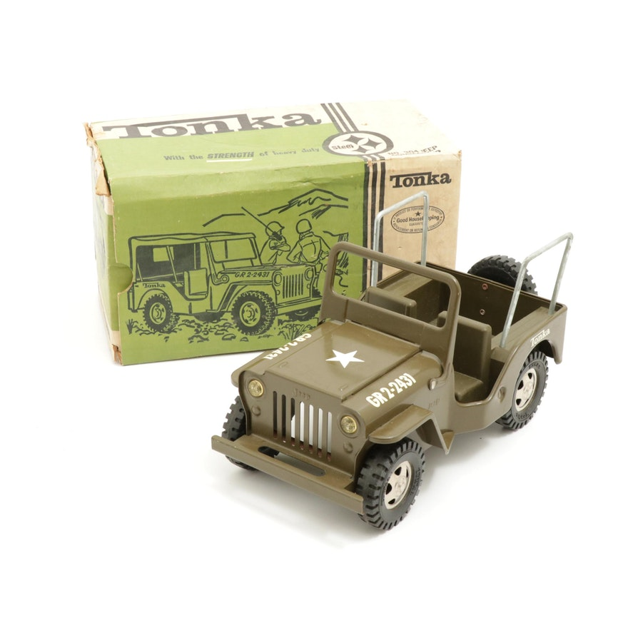 Tonka 304 Jeep Commander Toy Car in Original Box