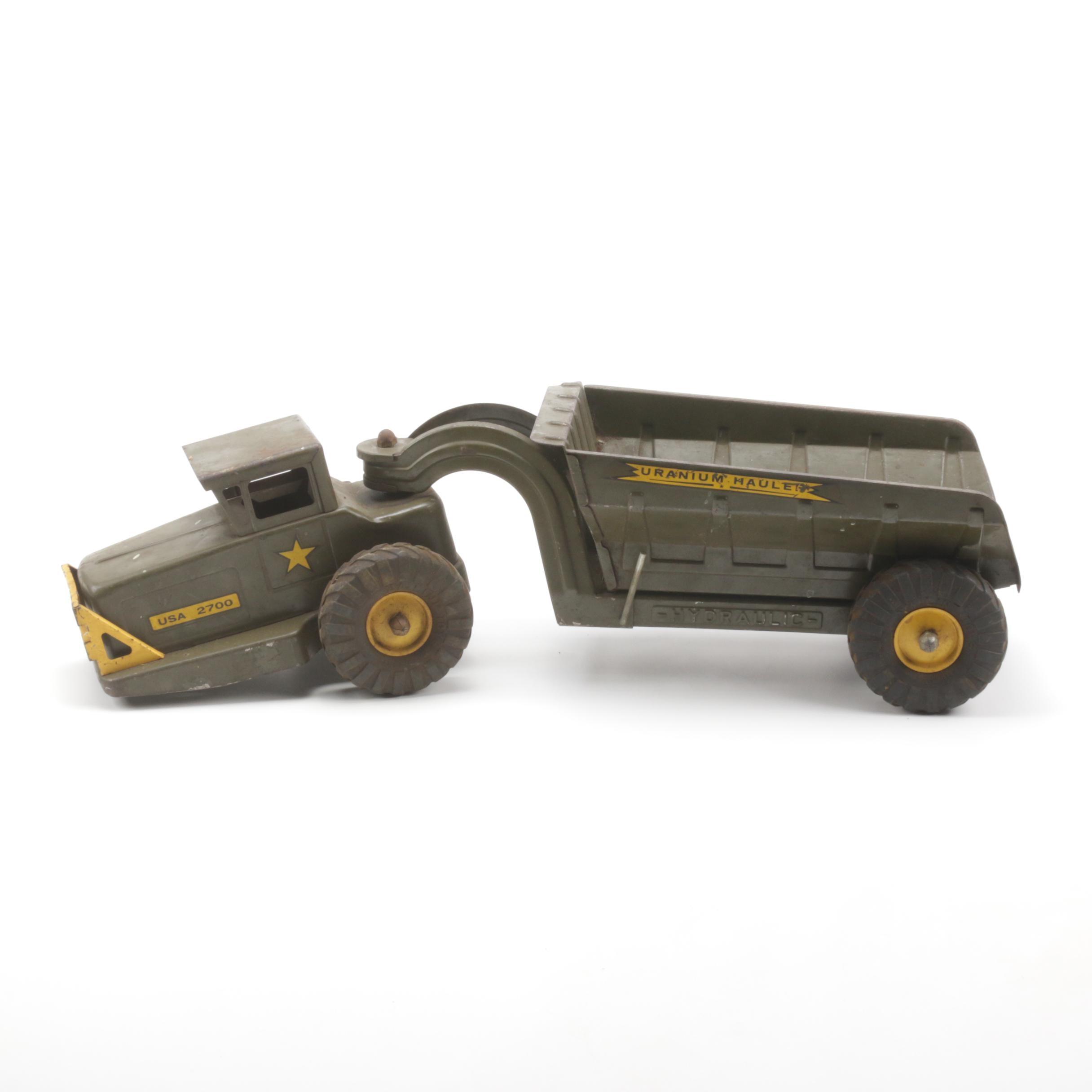 Nylint 1958 Uranium Hauler Military Toy Truck