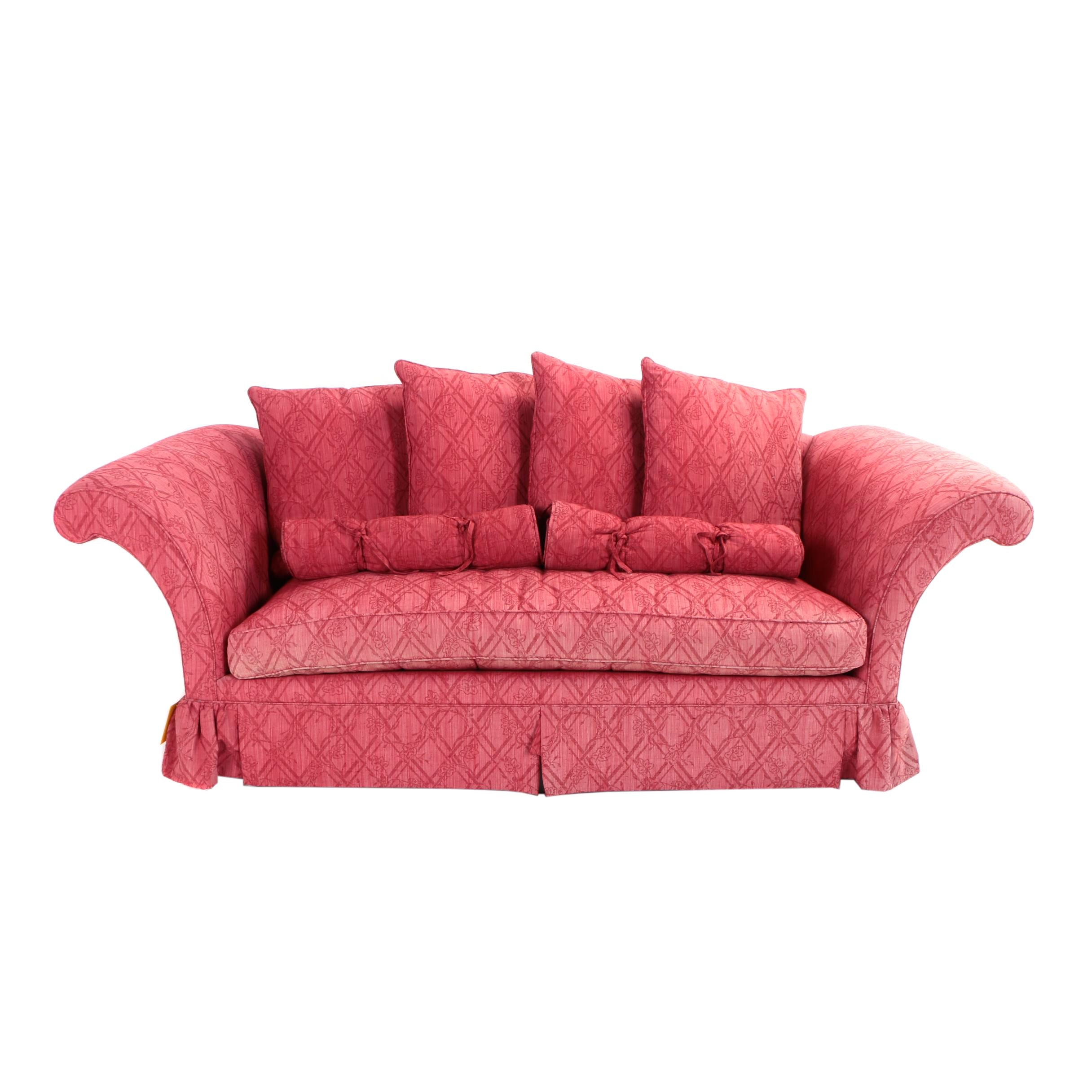 "Baker Furniture, ""Crown & Tulip Collection"" Sofa, Late 20th Century"
