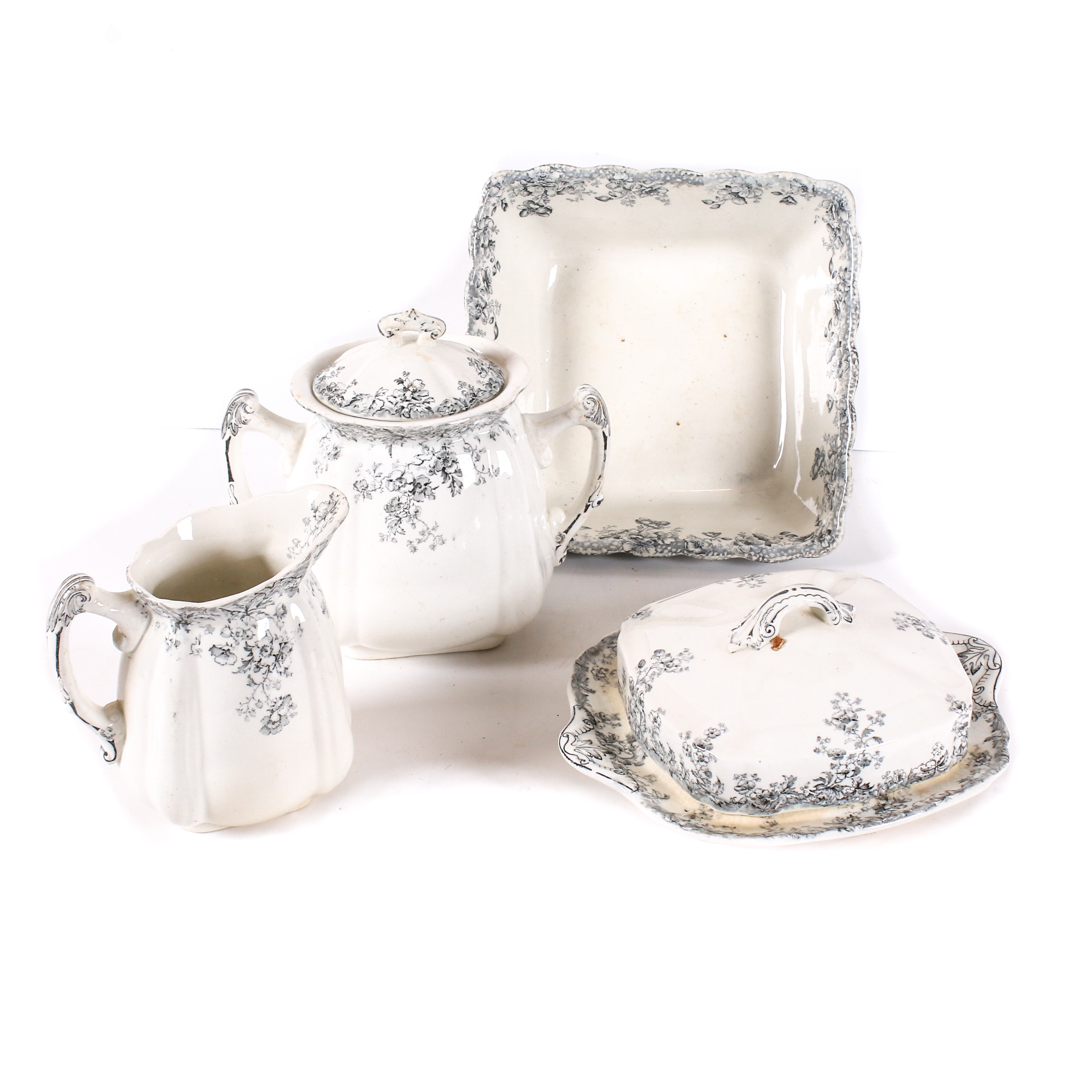 Doulton and E.M. & Co. Porcelain Tableware