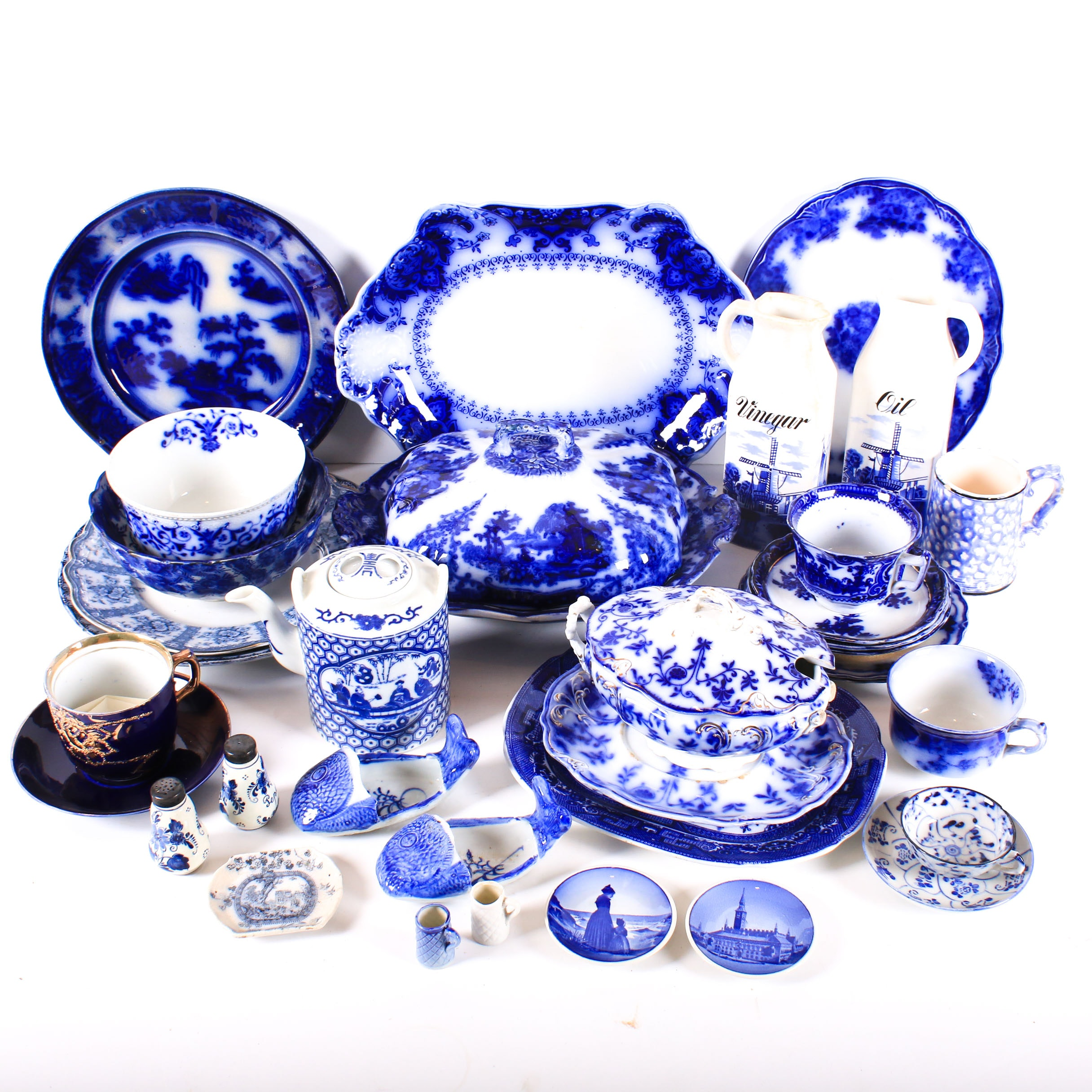 Blue and White China Collection