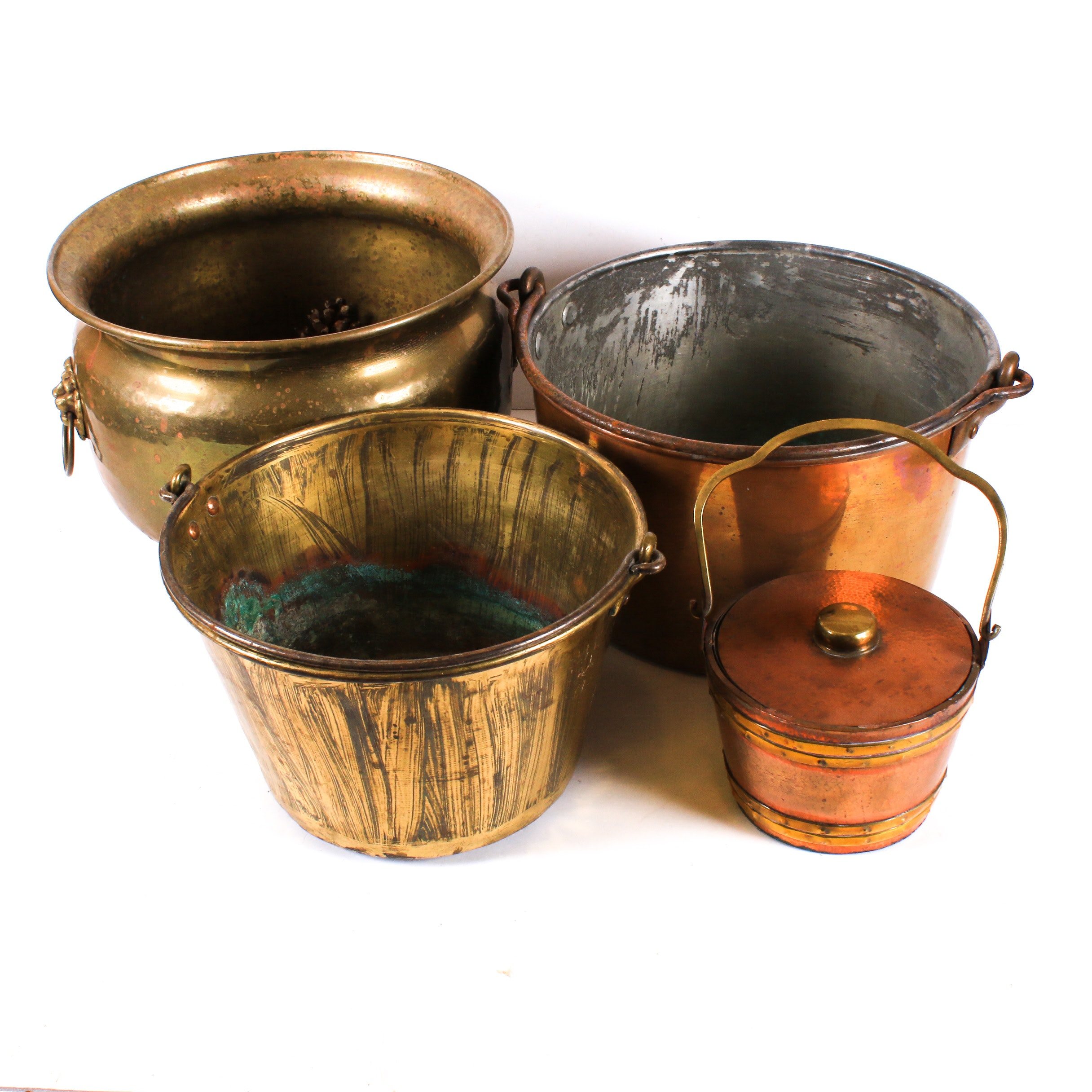 Copper and Brass Pots