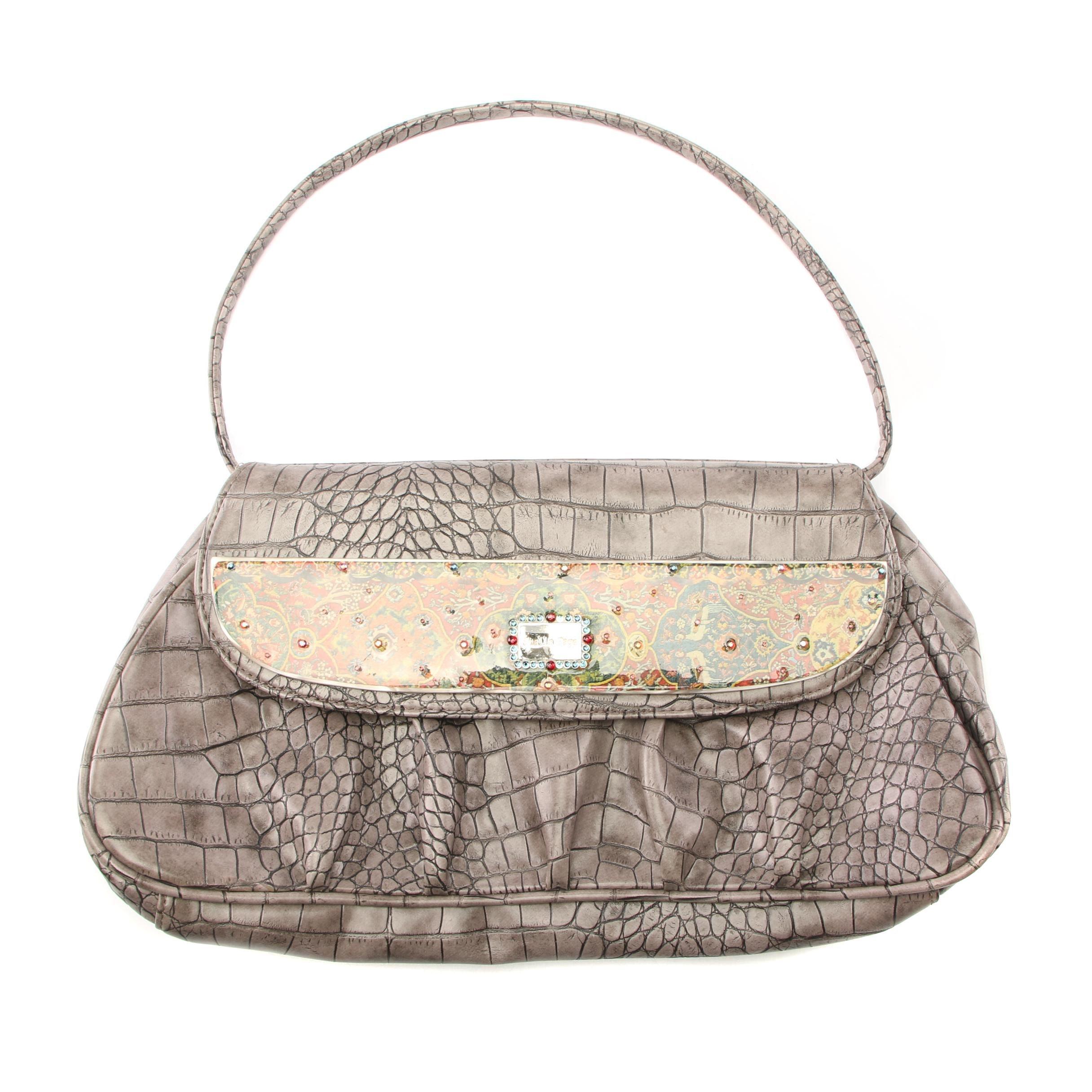 Stella Page Embossed Leather Limited Edition Handbag