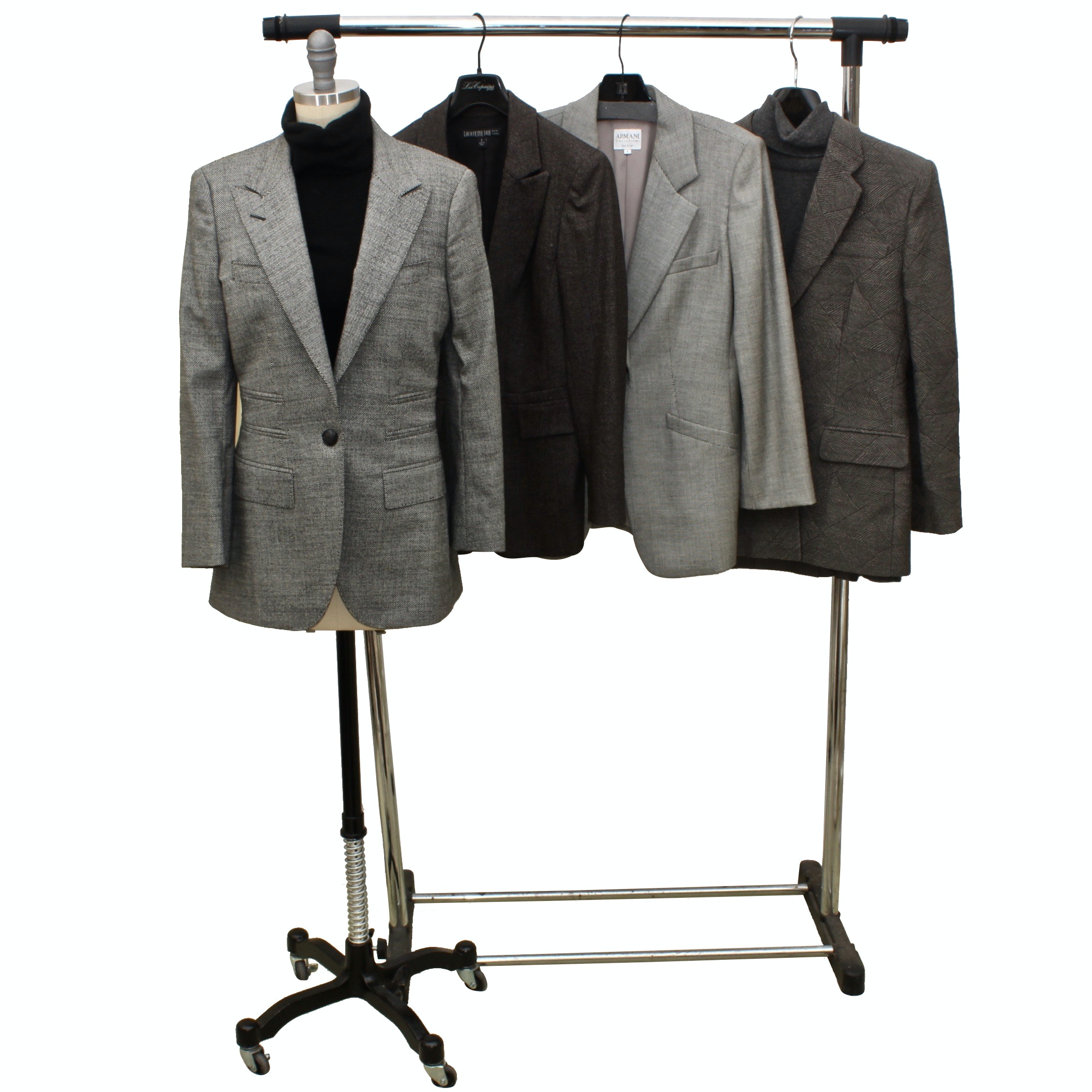 Women's Suit Jackets and Separates by Giambattista Valli, Armani and More