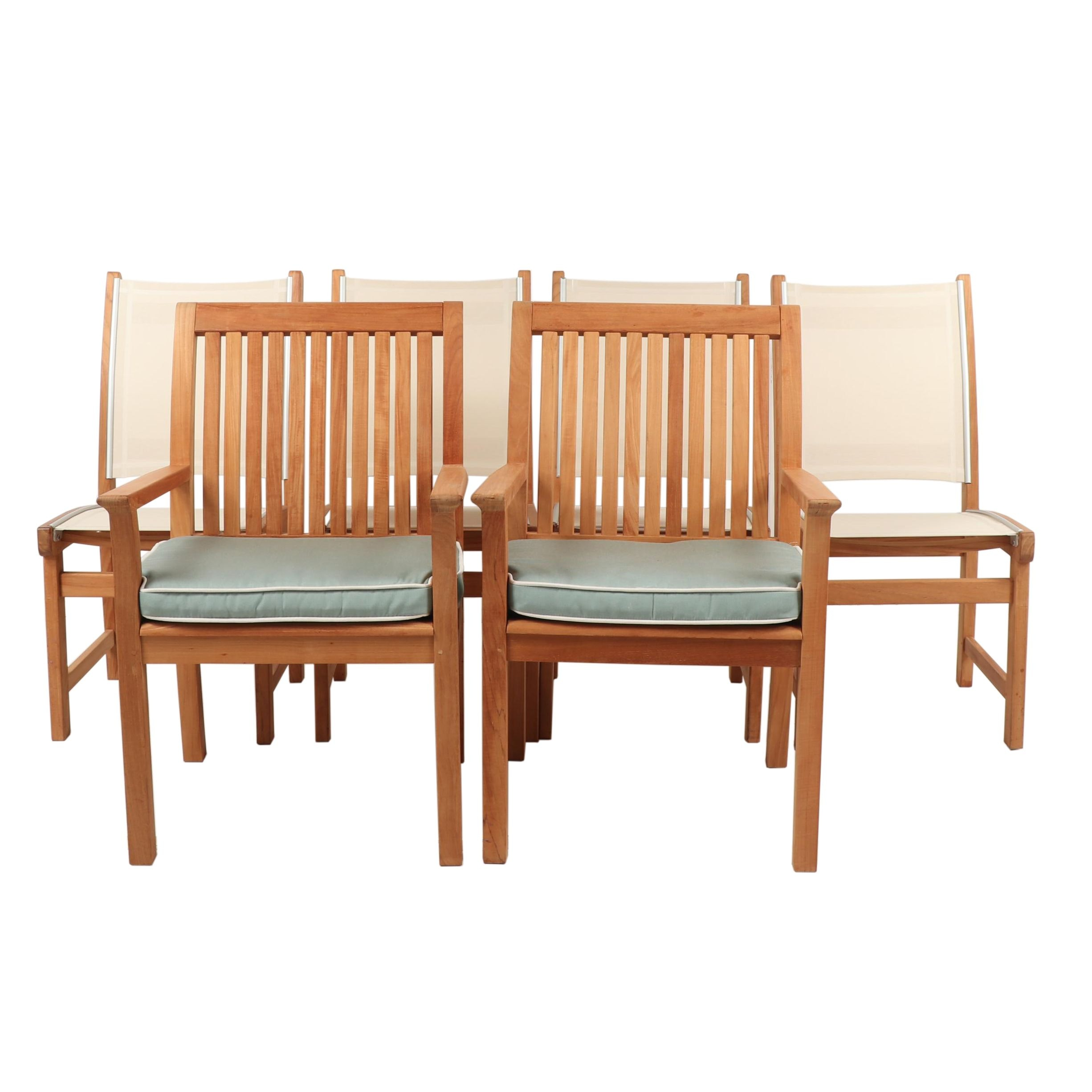 Contemporary Kingsley~Bate Outdoor Teak Chairs