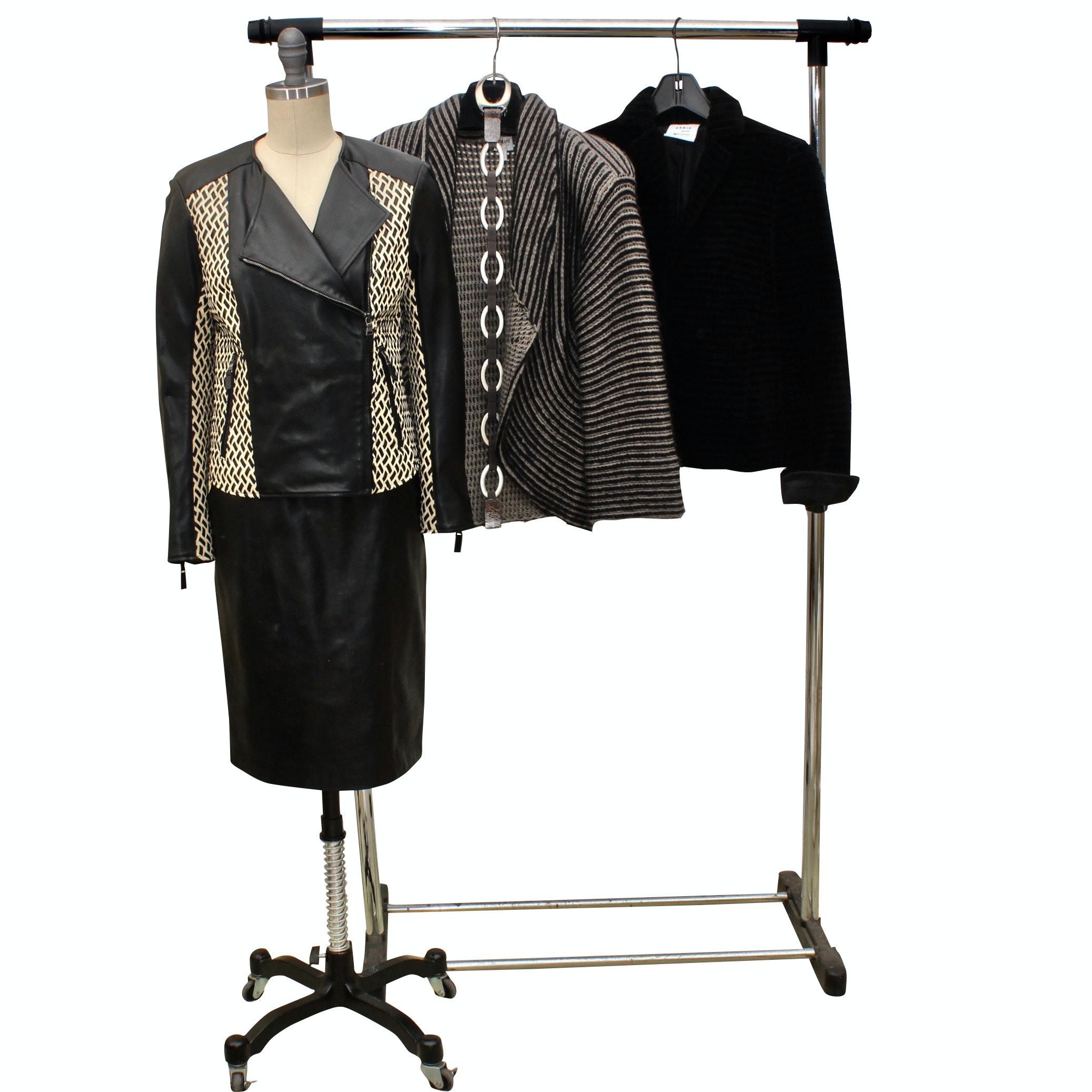 Women's Italian Jackets Including Armani, Etro and Akris