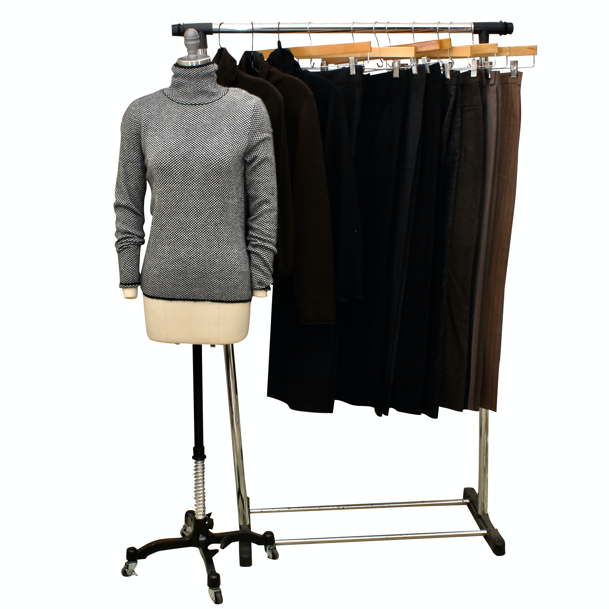 Chanel, Giorgio Armani, Les Copains, Ralph Lauren, and More Sweaters and Pants