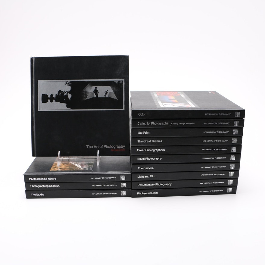 """""""Time Life Library of Photography"""" 14 Volume Partial Set"""