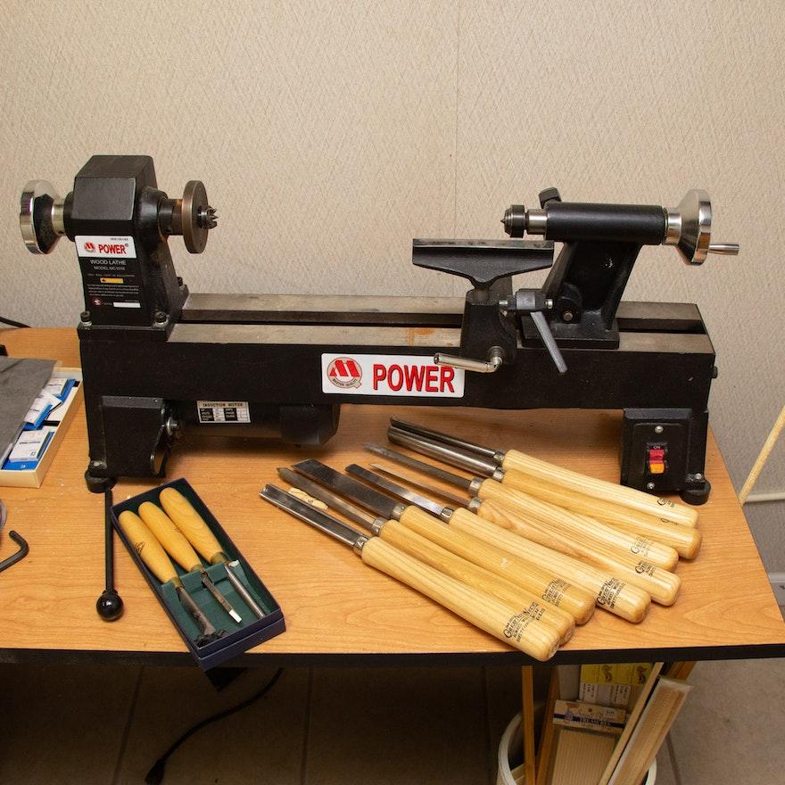 Power Wood Lathe