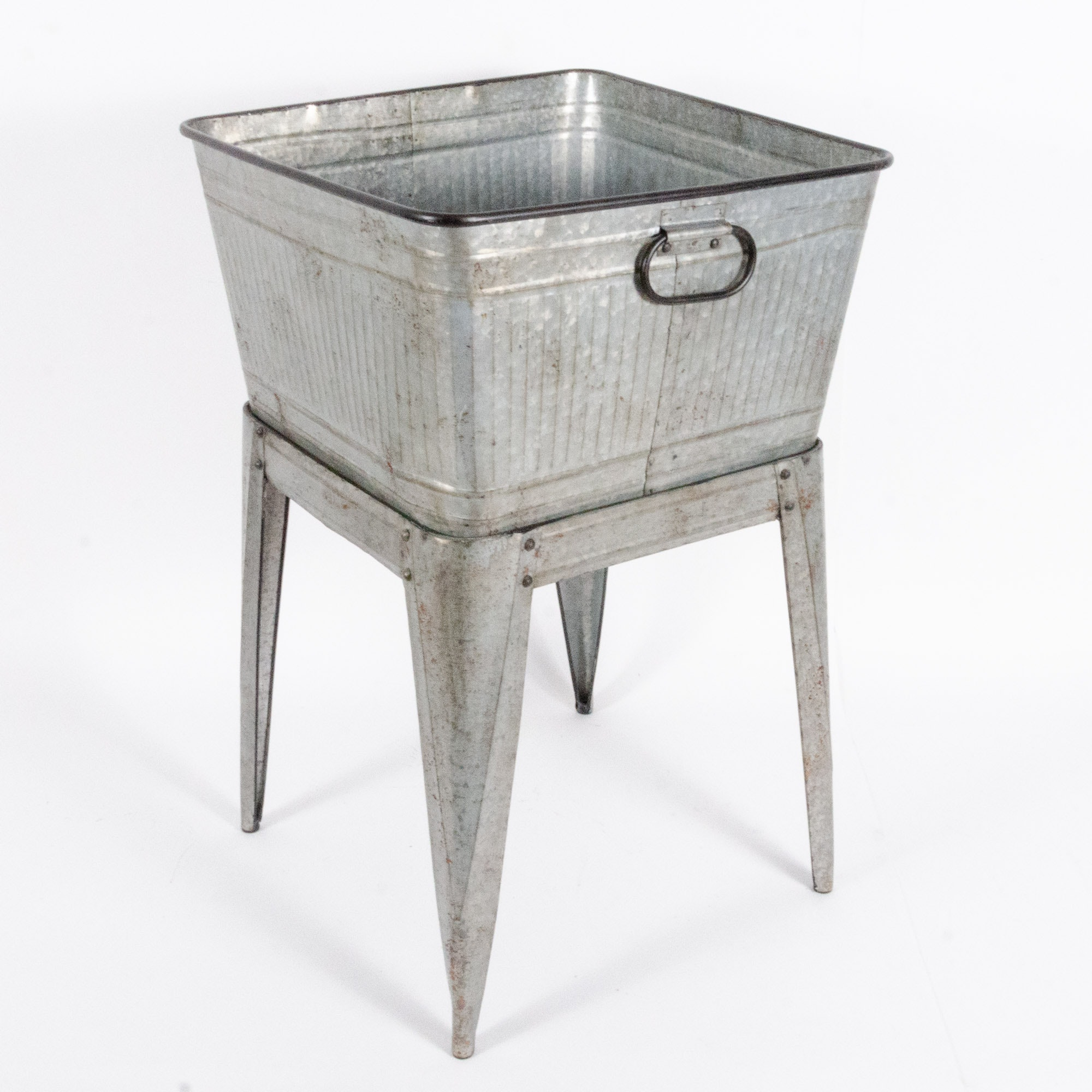 Galvanized Metal Washstand
