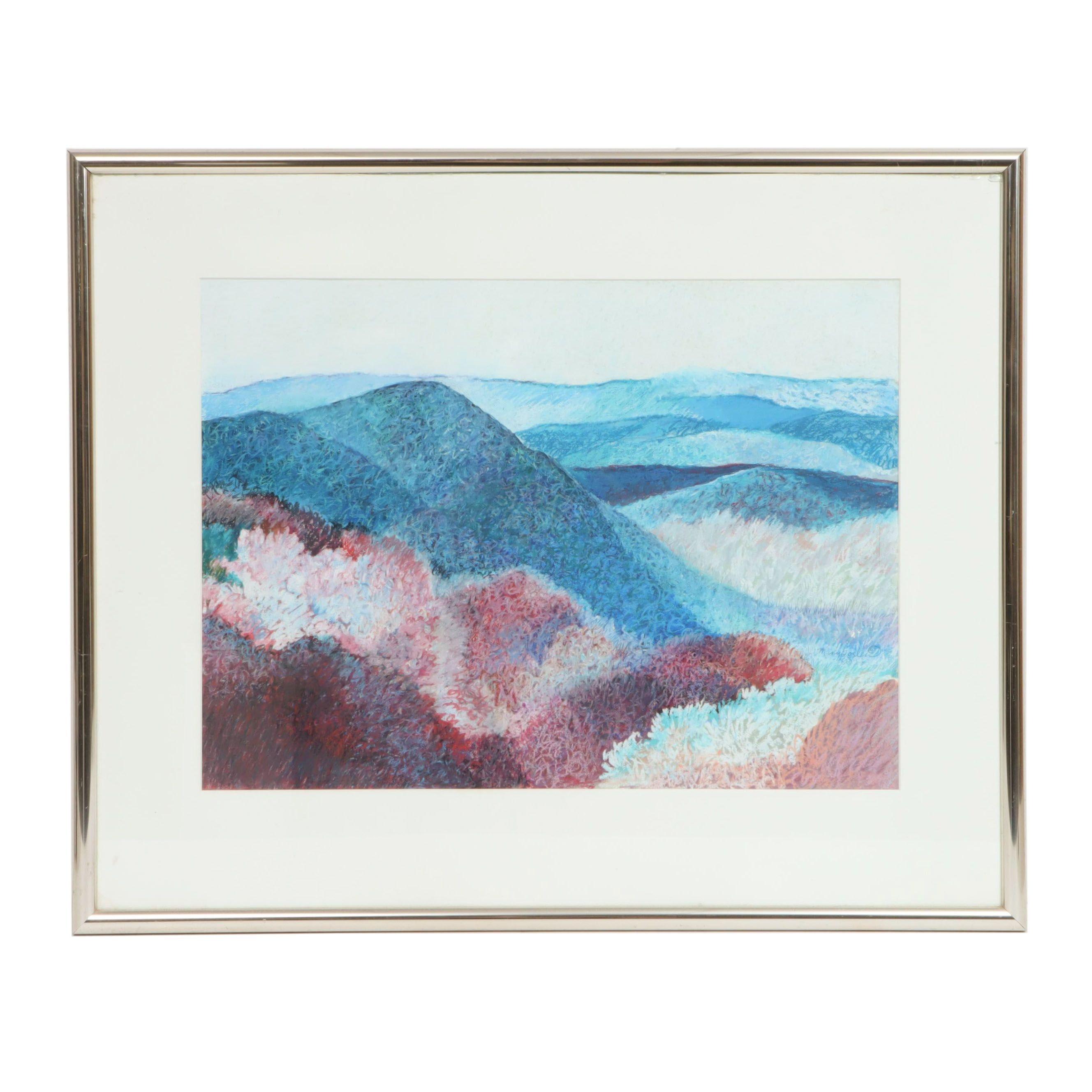 Mary Goslen Acrylic Painting